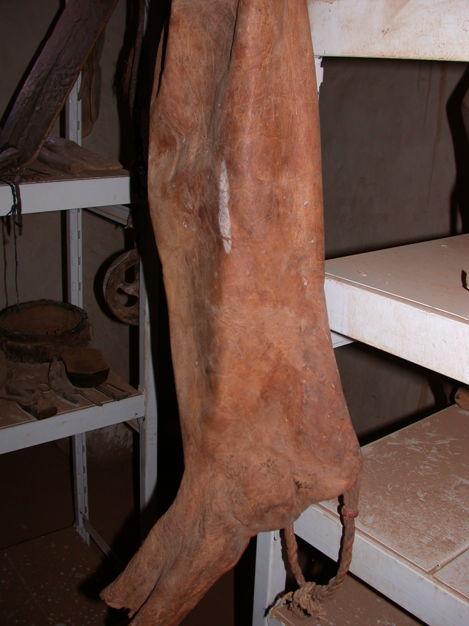 Traditional Bag at Museum in Ancient City of Oulata, Mauritania