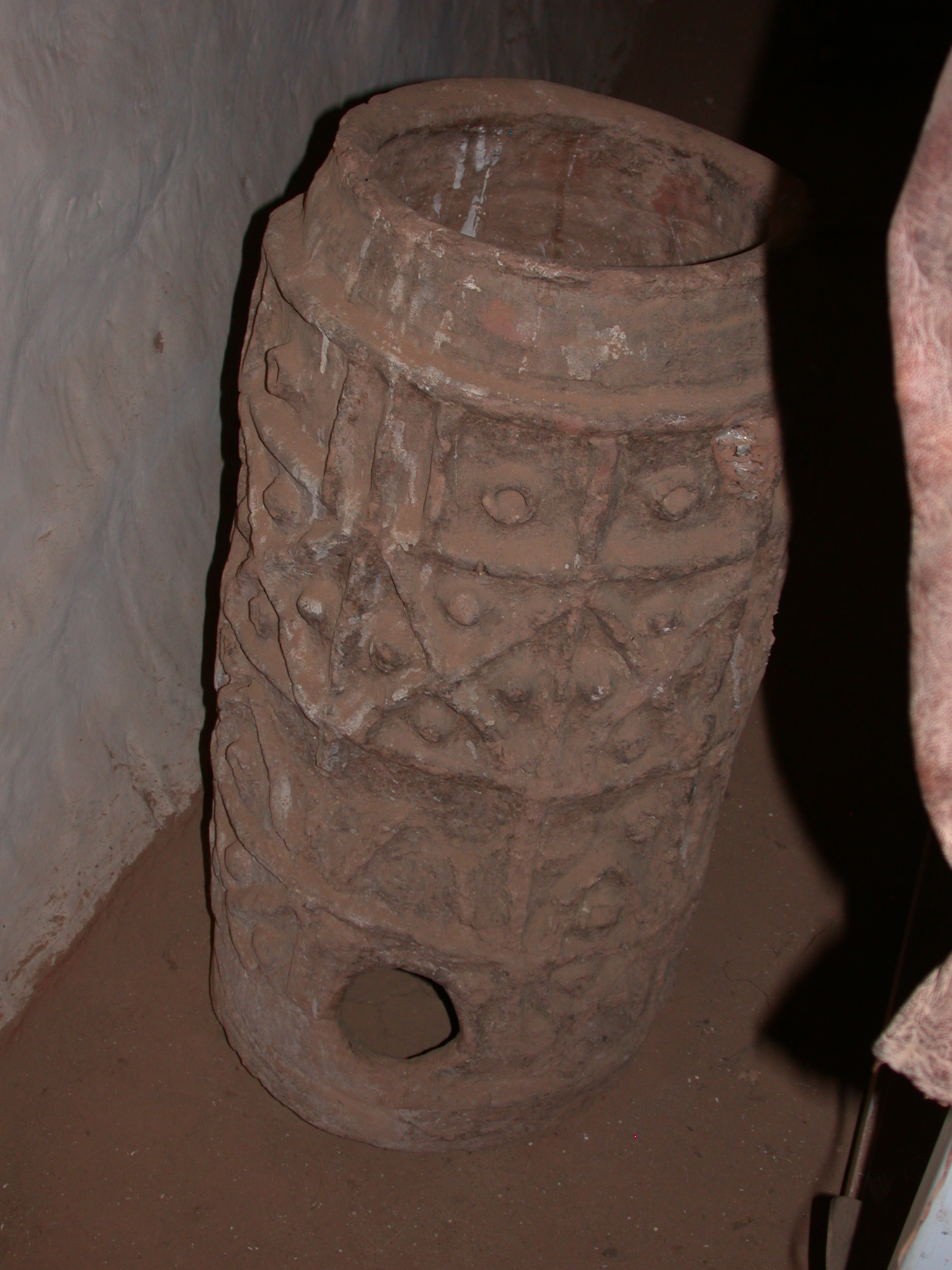 Pottery Object at Museum in Ancient City of Oulata, Mauritania