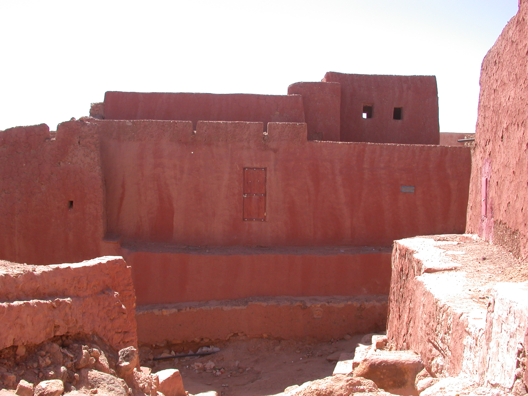 City View of Ancient City of Oulata, Mauritania