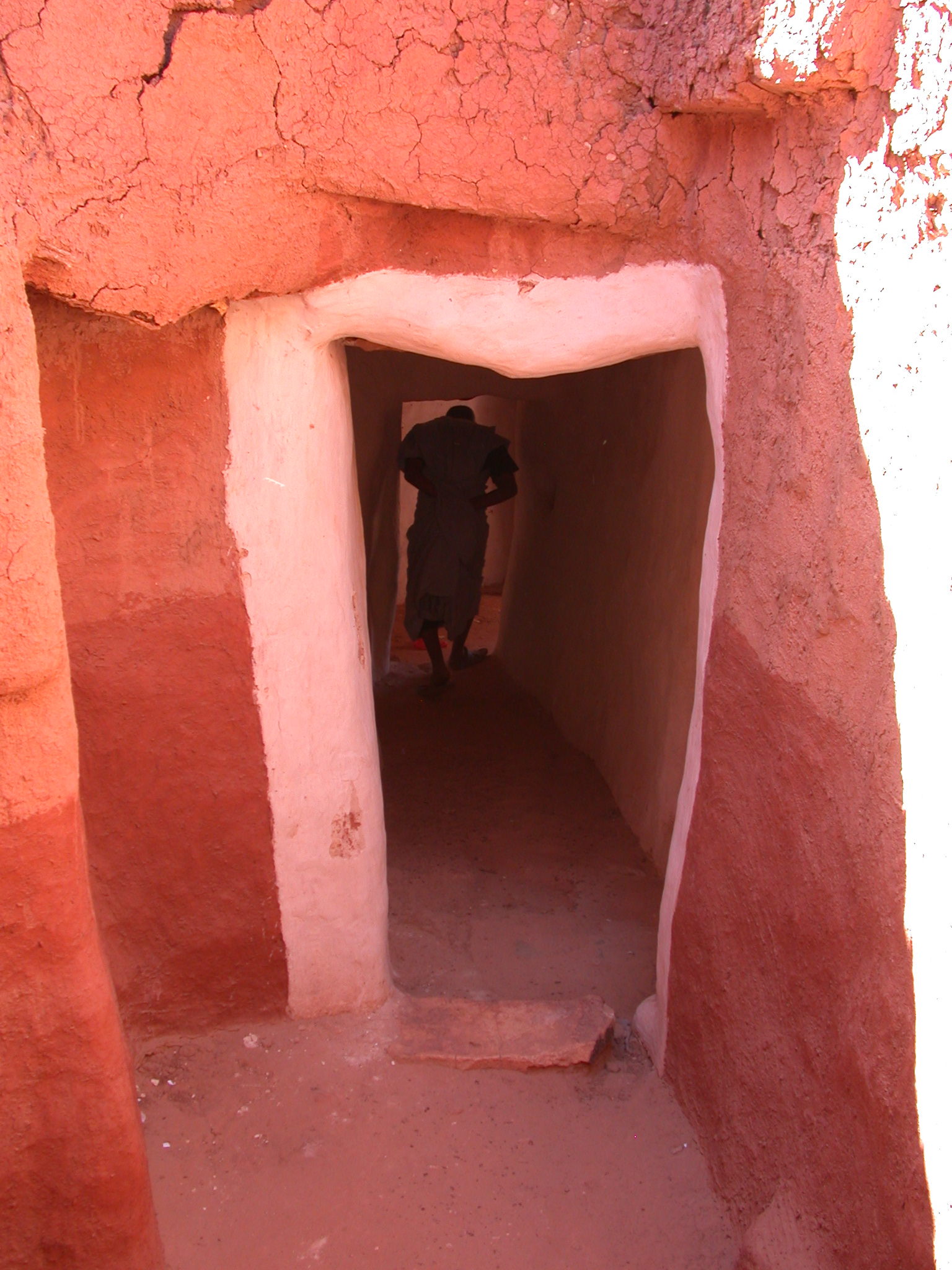Interior Doorway in Ancient City of Oulata, Mauritania