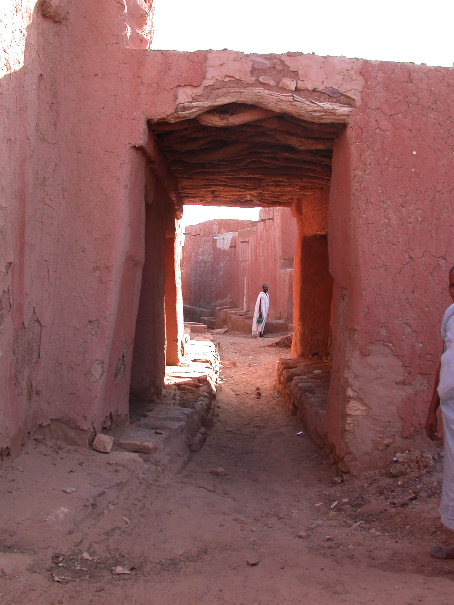 Hallway for Women in Ancient City of Oualata, Mauritania