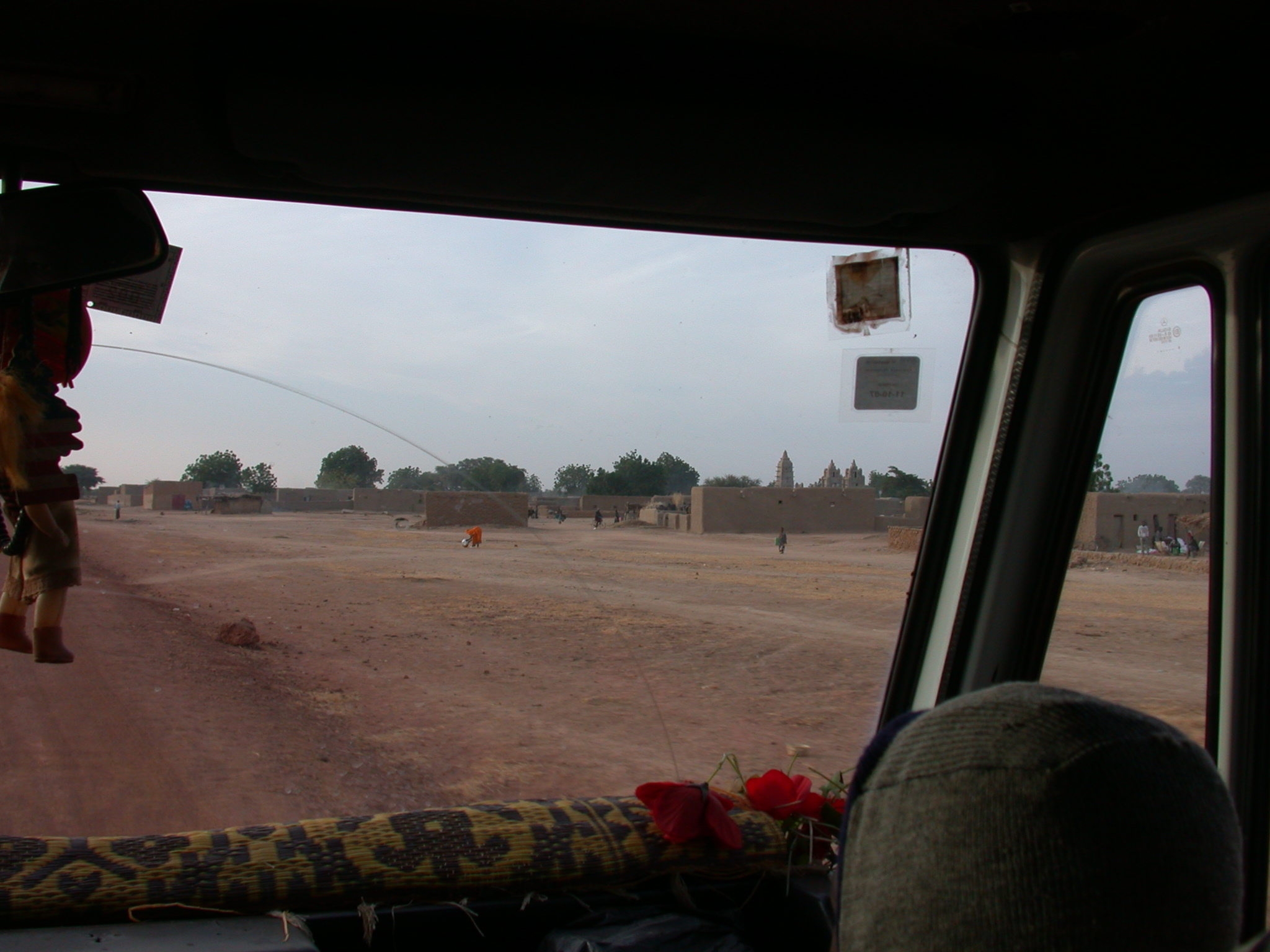 View From Vehicle on the Route From Sokolo to Niono, Mali