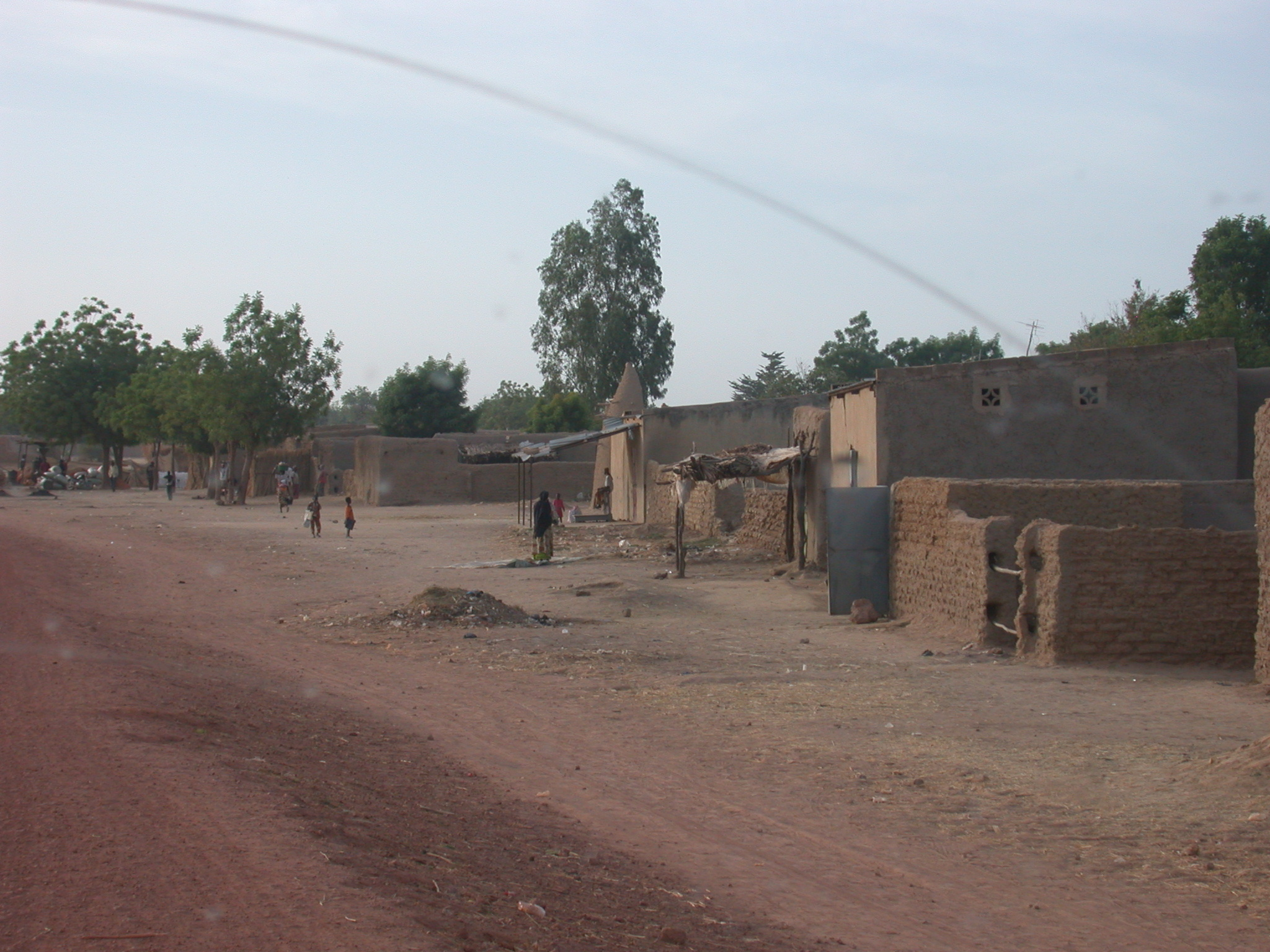 Town on the Route From Sokolo to Niono, Mali