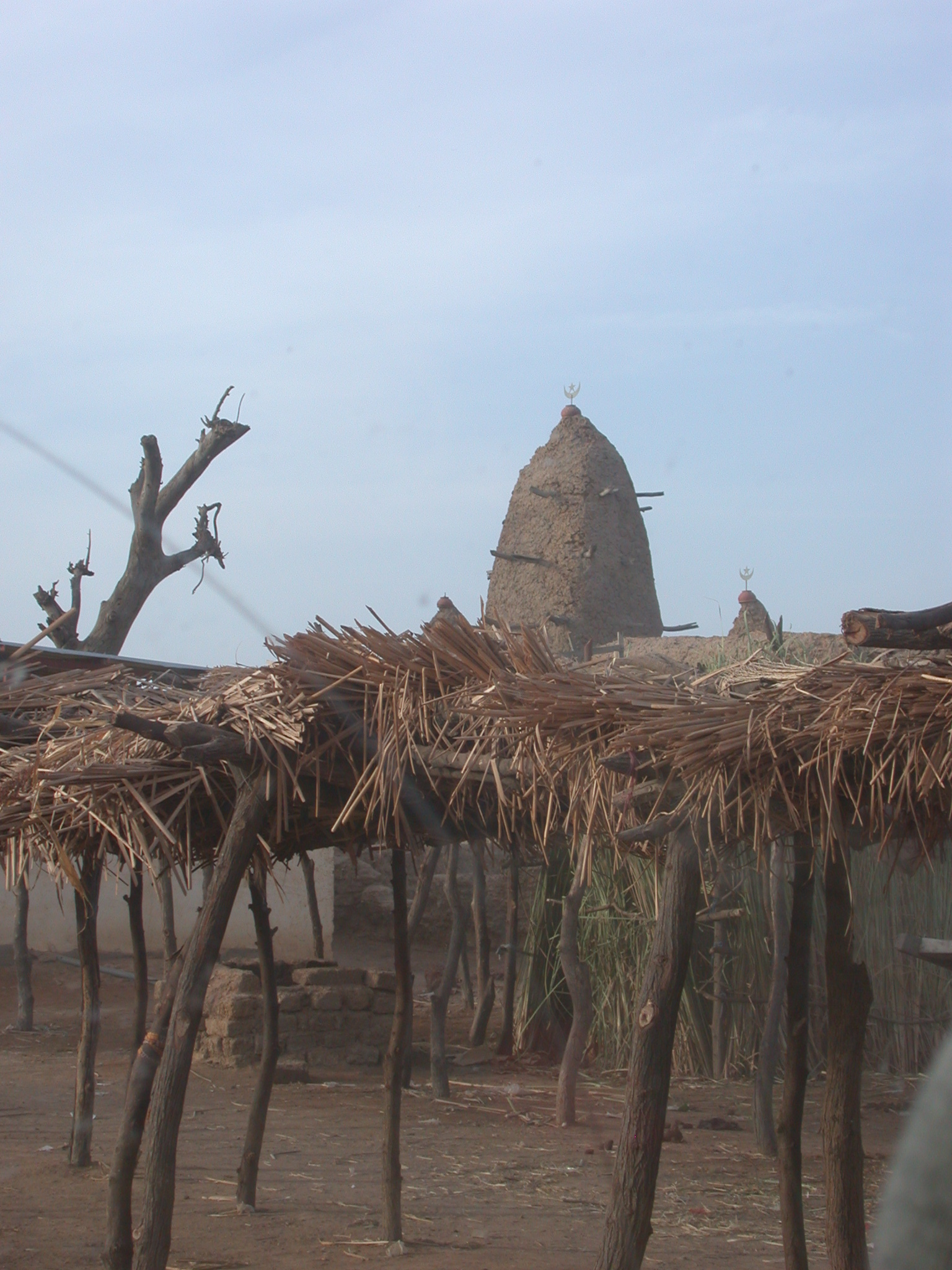 Traditional Mosque on the Route From Sokolo to Niono, Mali