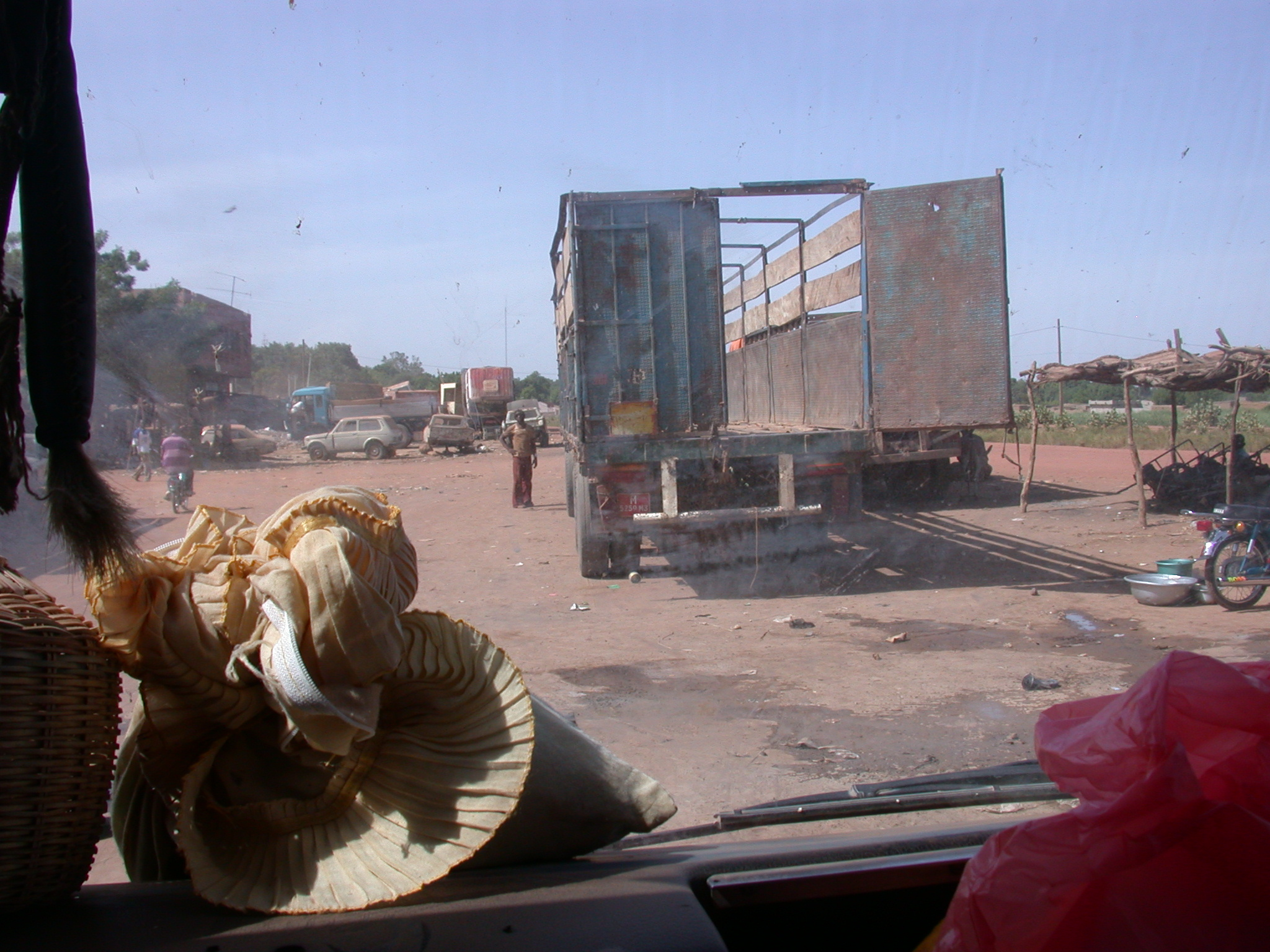 Truck and Driver in Nioro, Mali