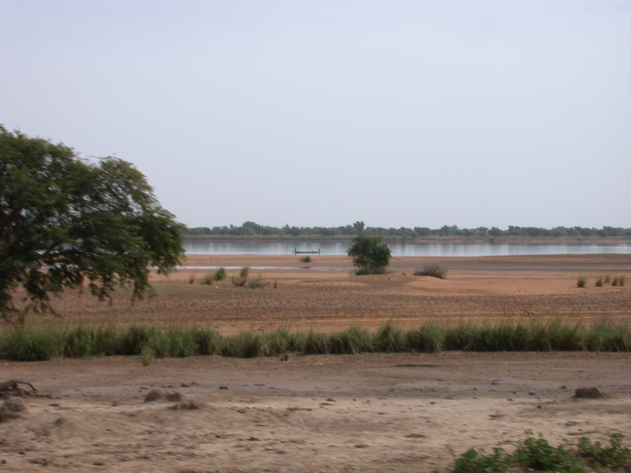 Landscape on Road From Nioro to Massina, Mali