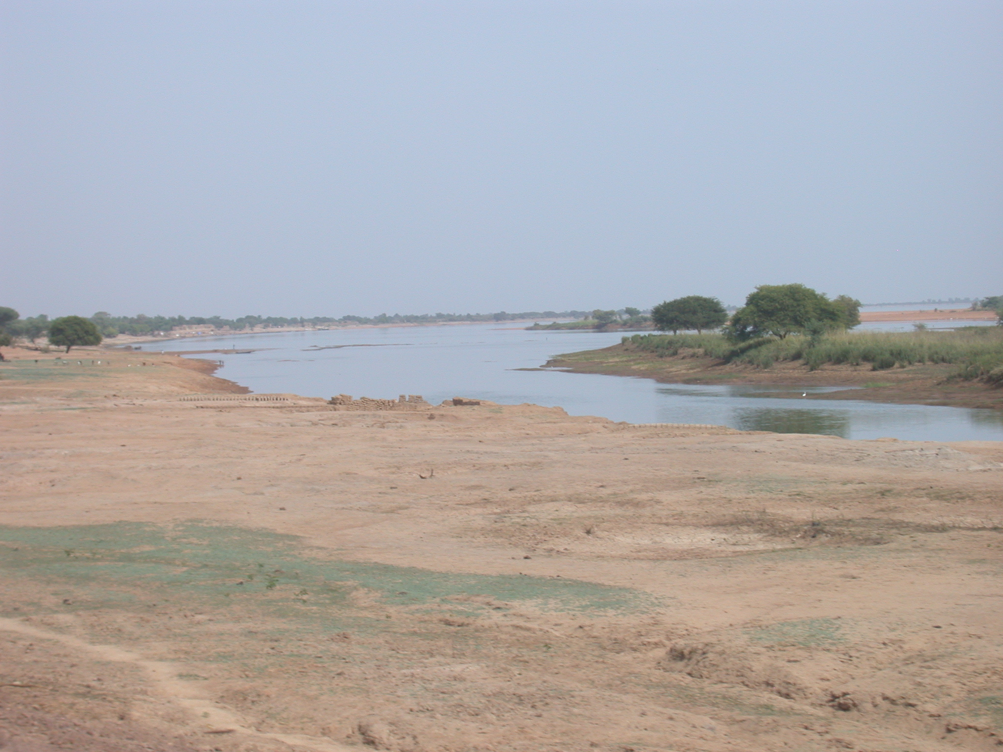 Niger River Tributary on Road From Nioro to Massina, Mali