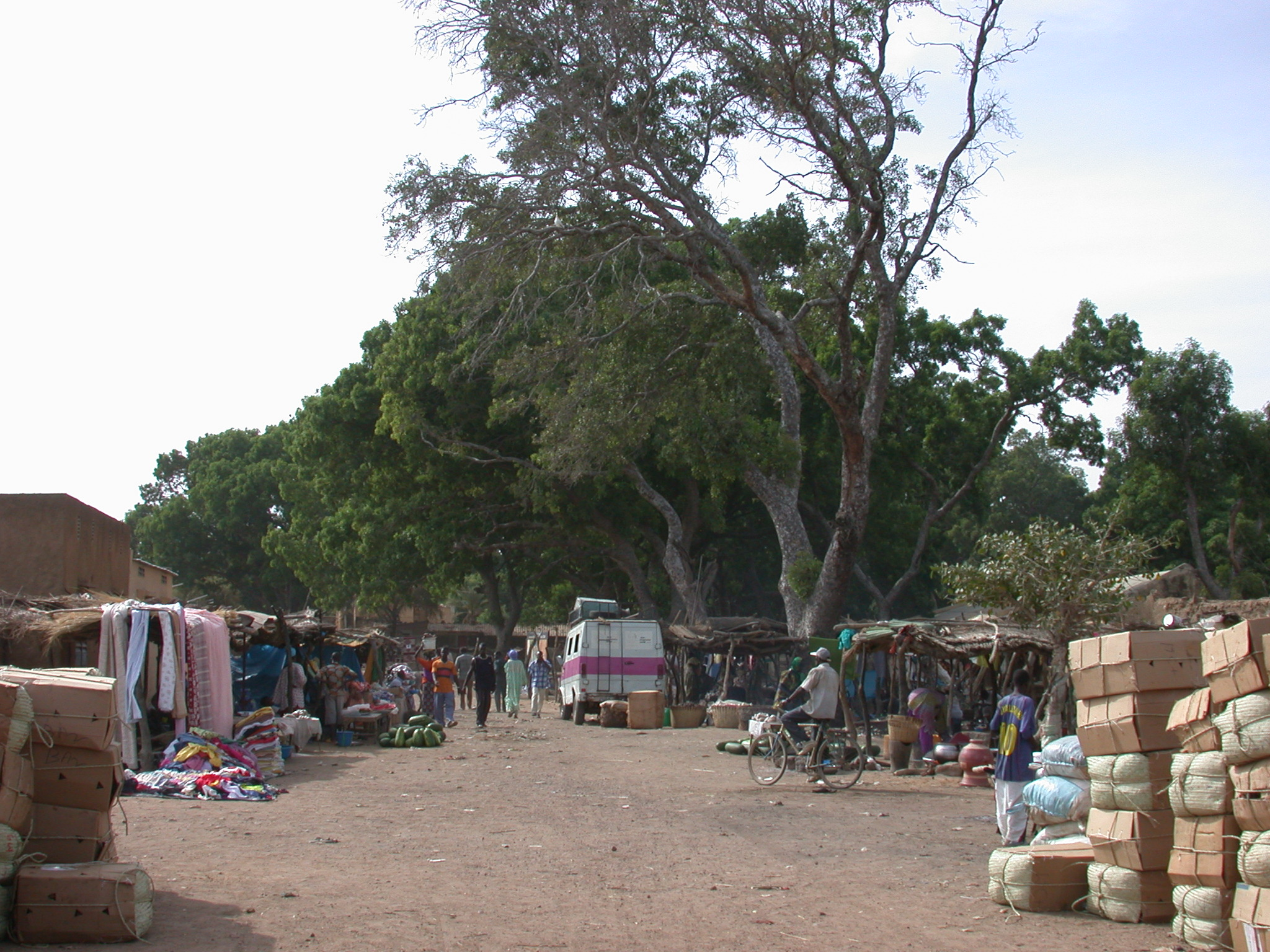 Marketplace in Massina, Mali