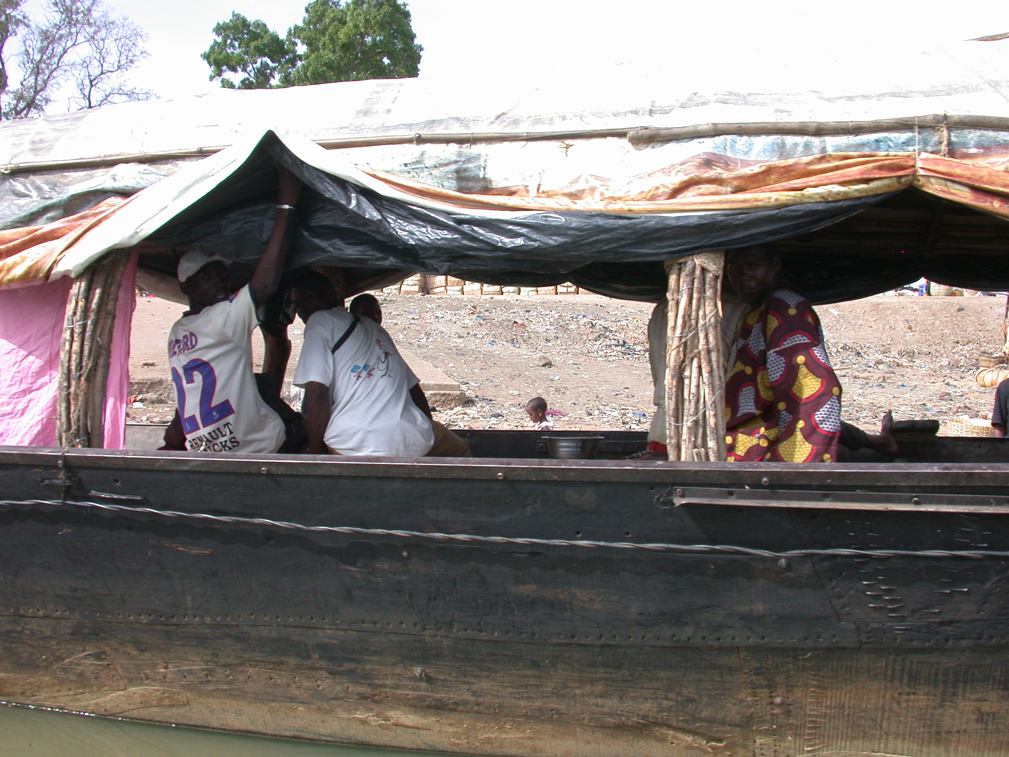 Pinasse Boat at Massina, Mali