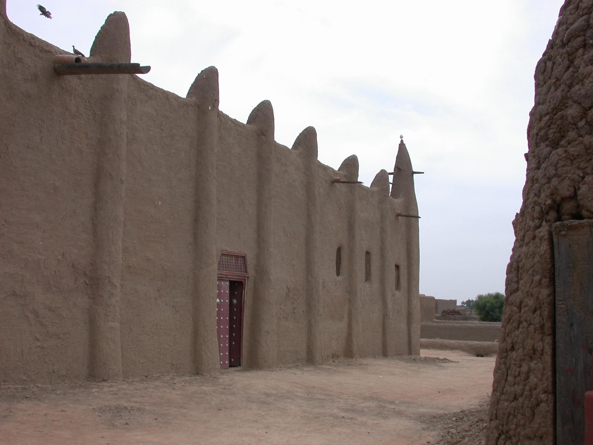 Exterior of Mosque in Jenne, Mali