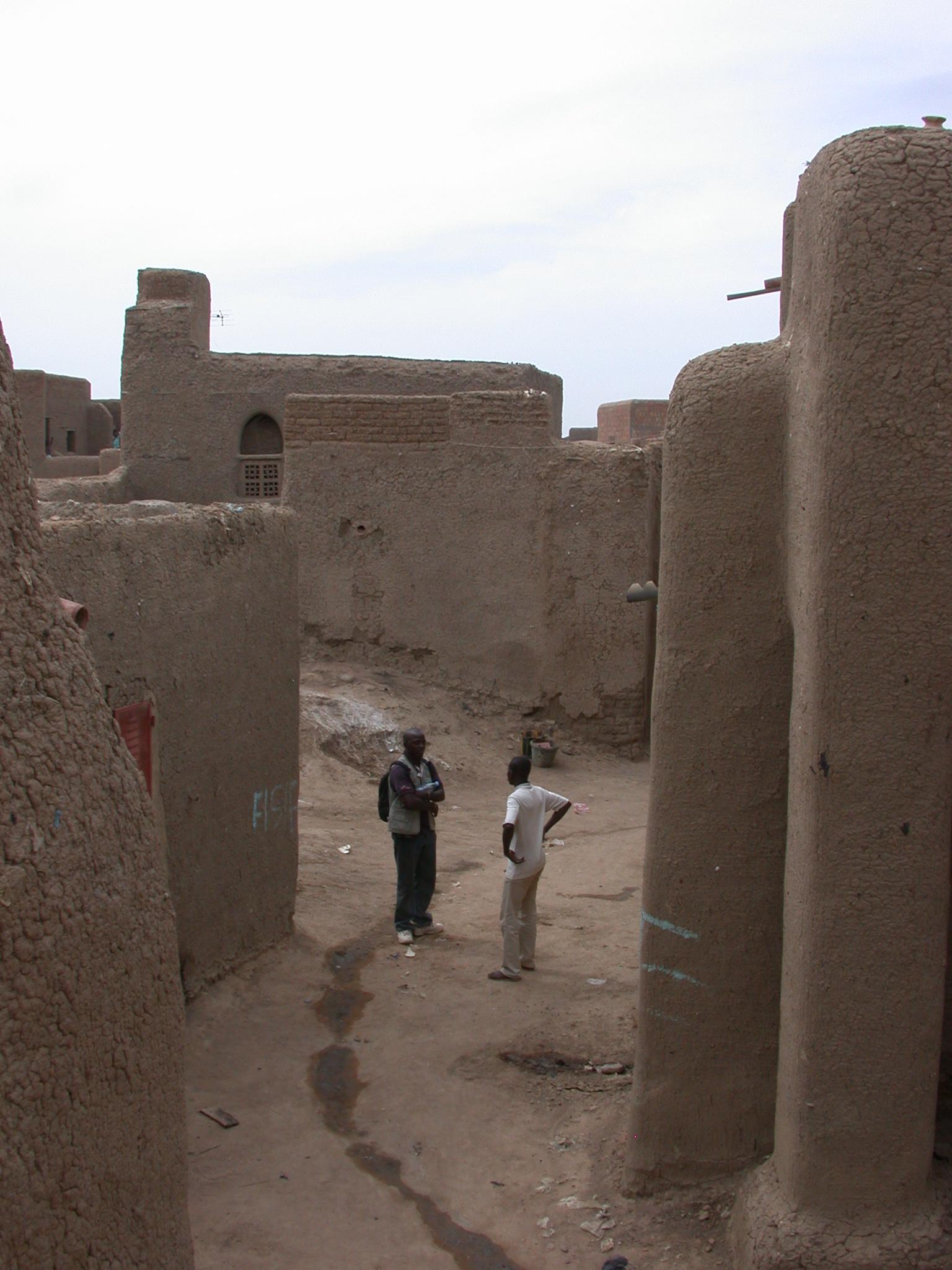 Streets of Jenne, Mali