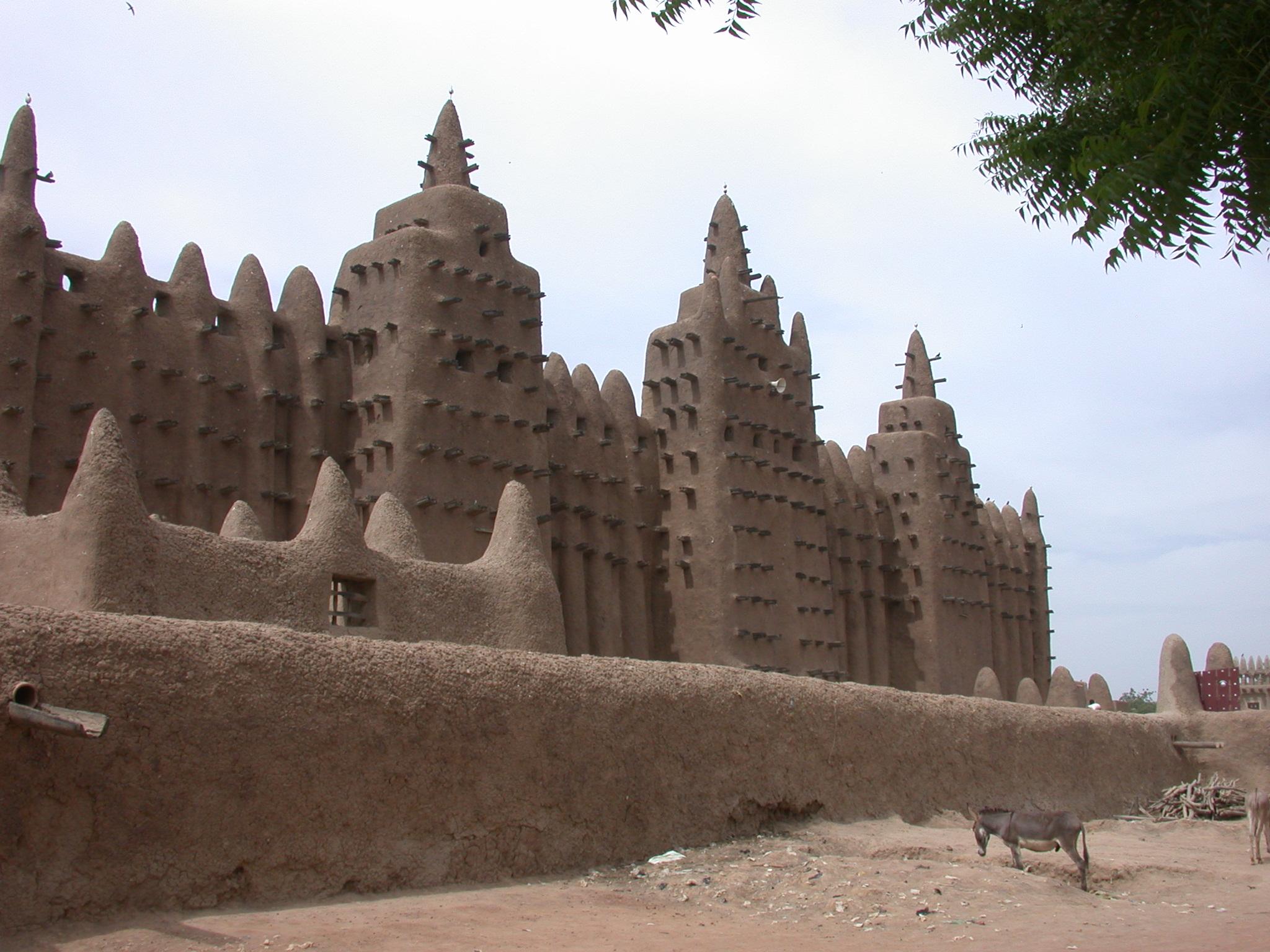 Mosque in Jenne, Mali