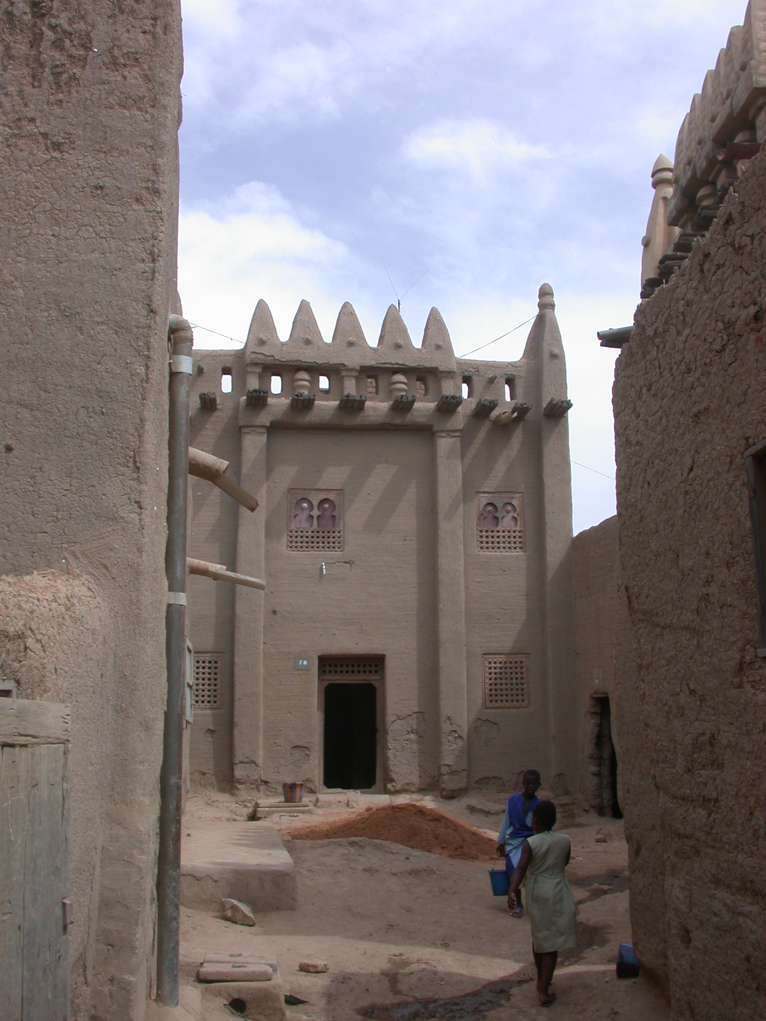 Moroccan-Style House in Jenne, Mali