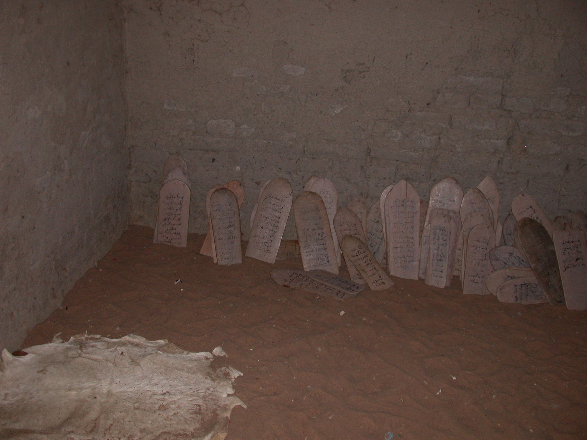 Tablets in Koranic School in Jenne, Mali