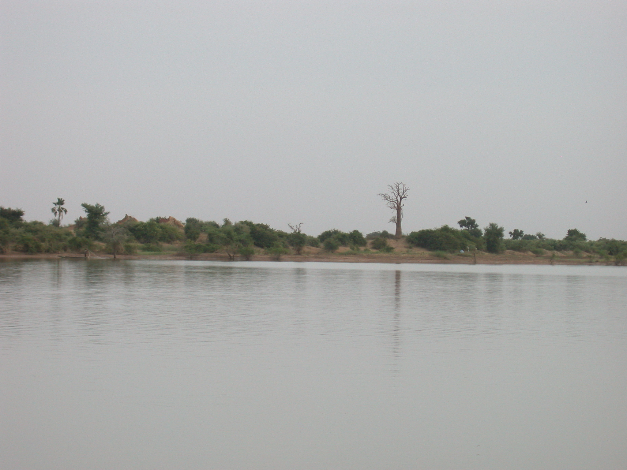 Niger River Crossing From Jenne to Bandiagara, Mali