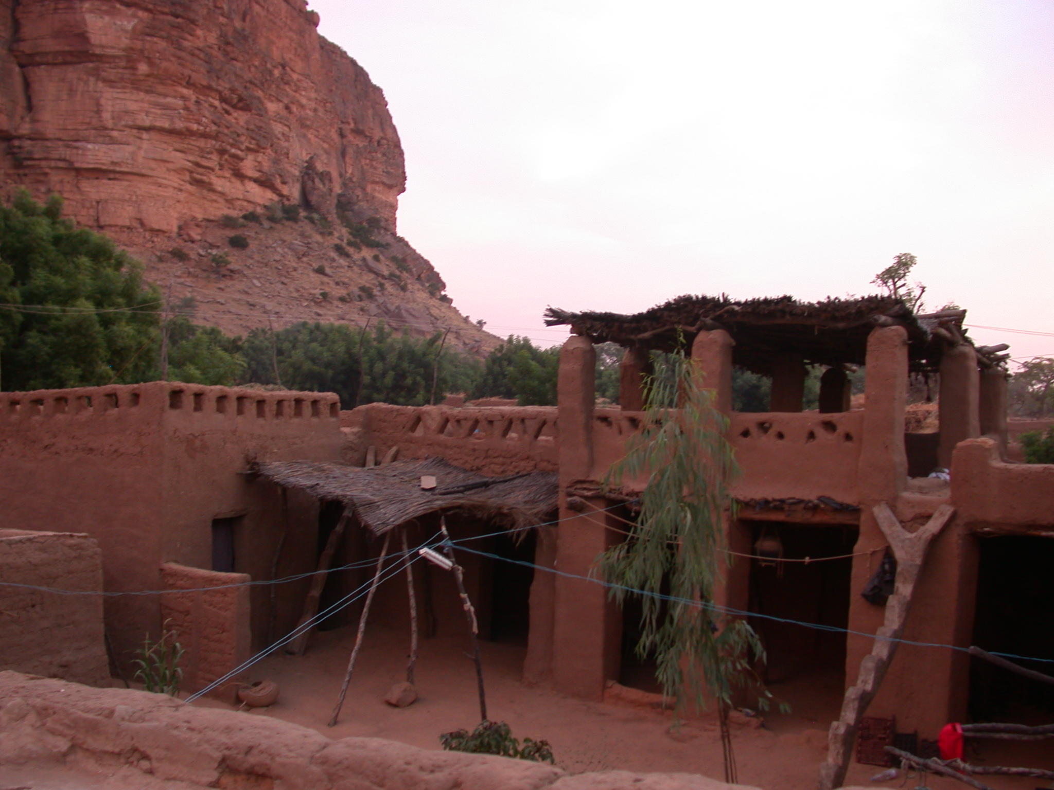 Hotel in Telli Village, Dogon Country, Mali