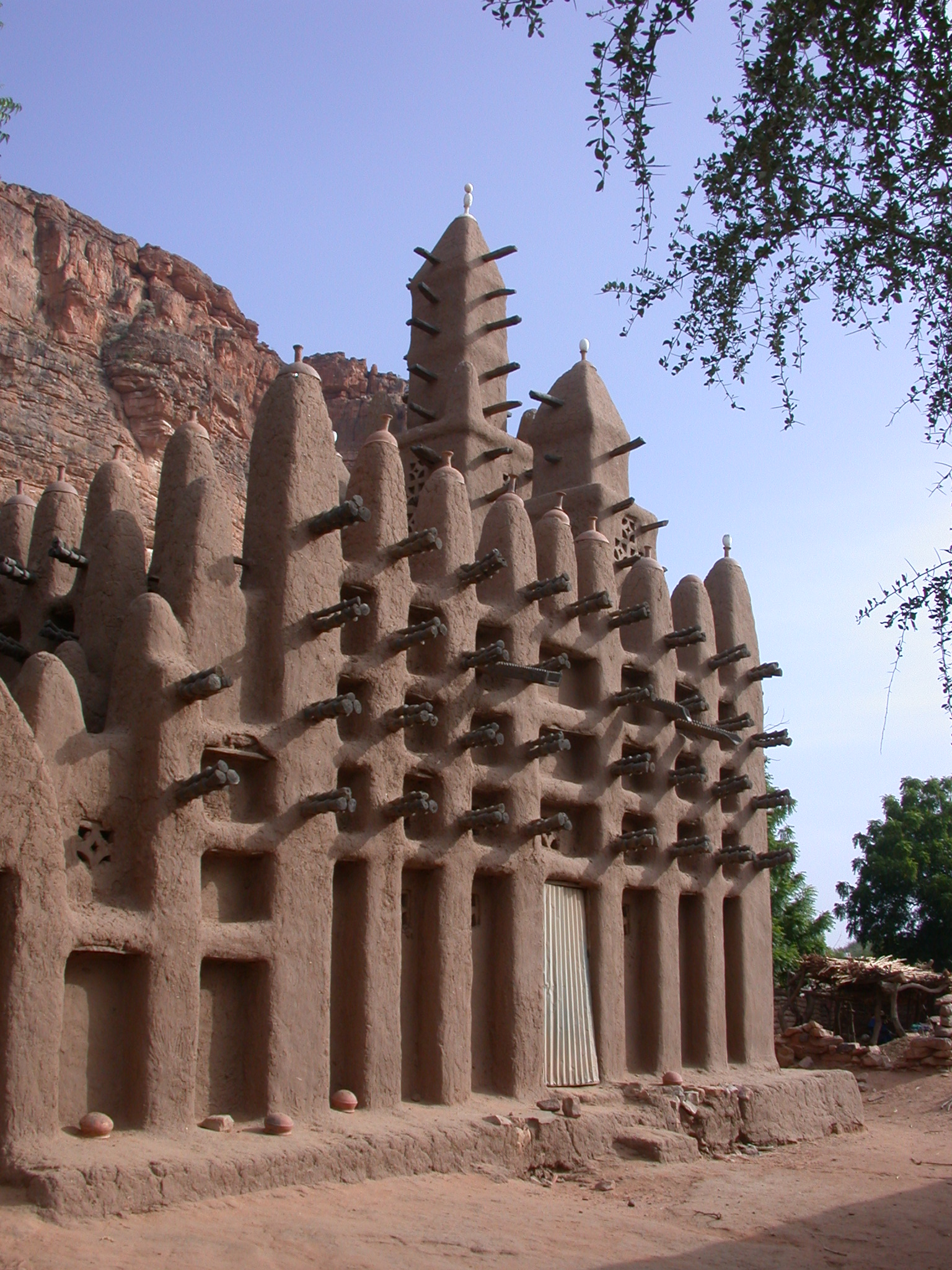 Mosque in Tellem Village, Dogon Country, Mali
