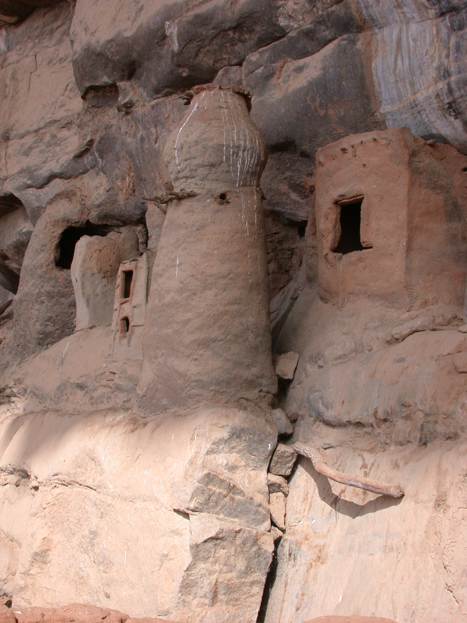 Miniature Tellem Dwellings, Tellem Village, Dogon Country, Mali