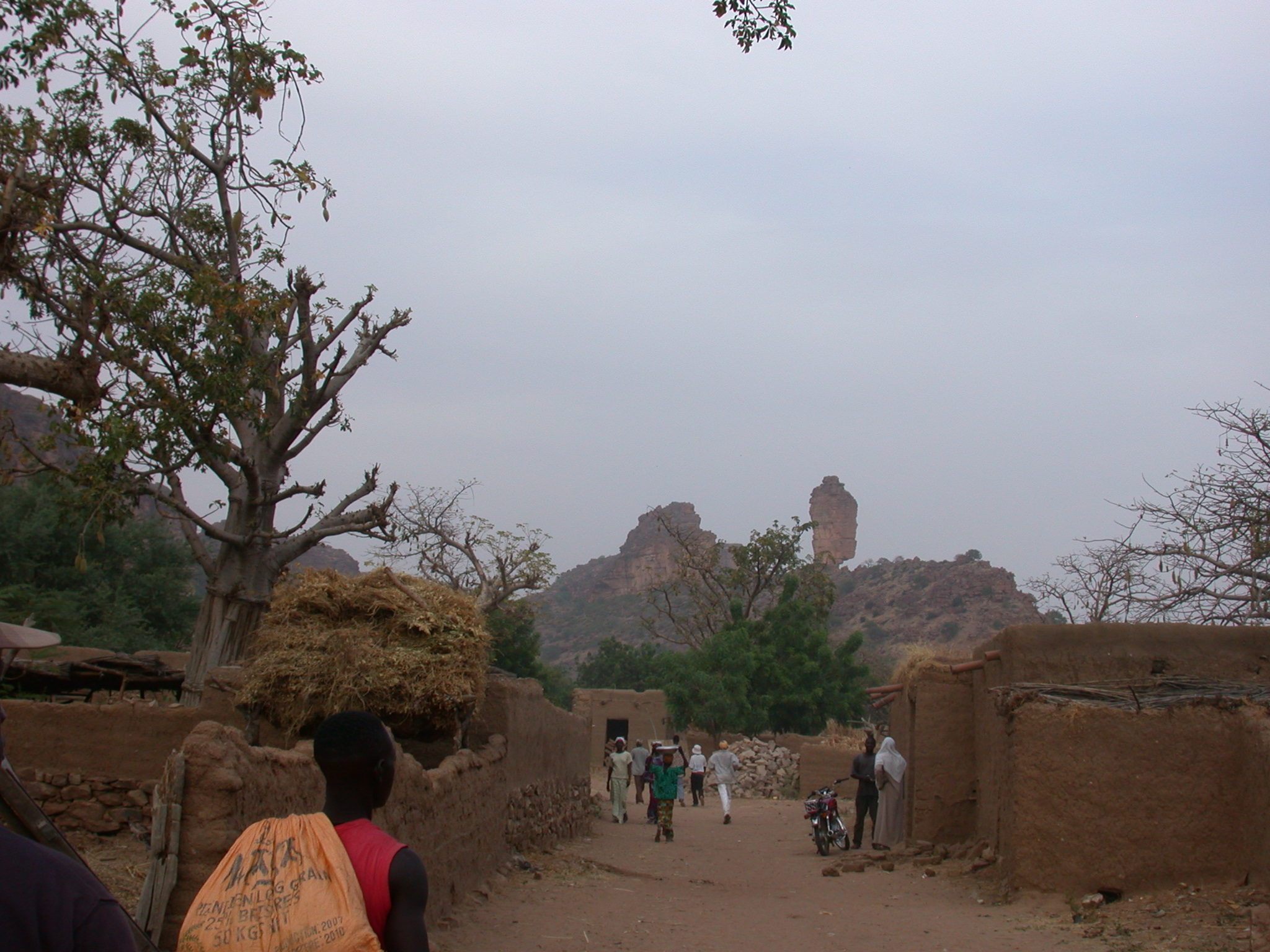 Strolling Through Ennde Village, Dogon Country, Mali
