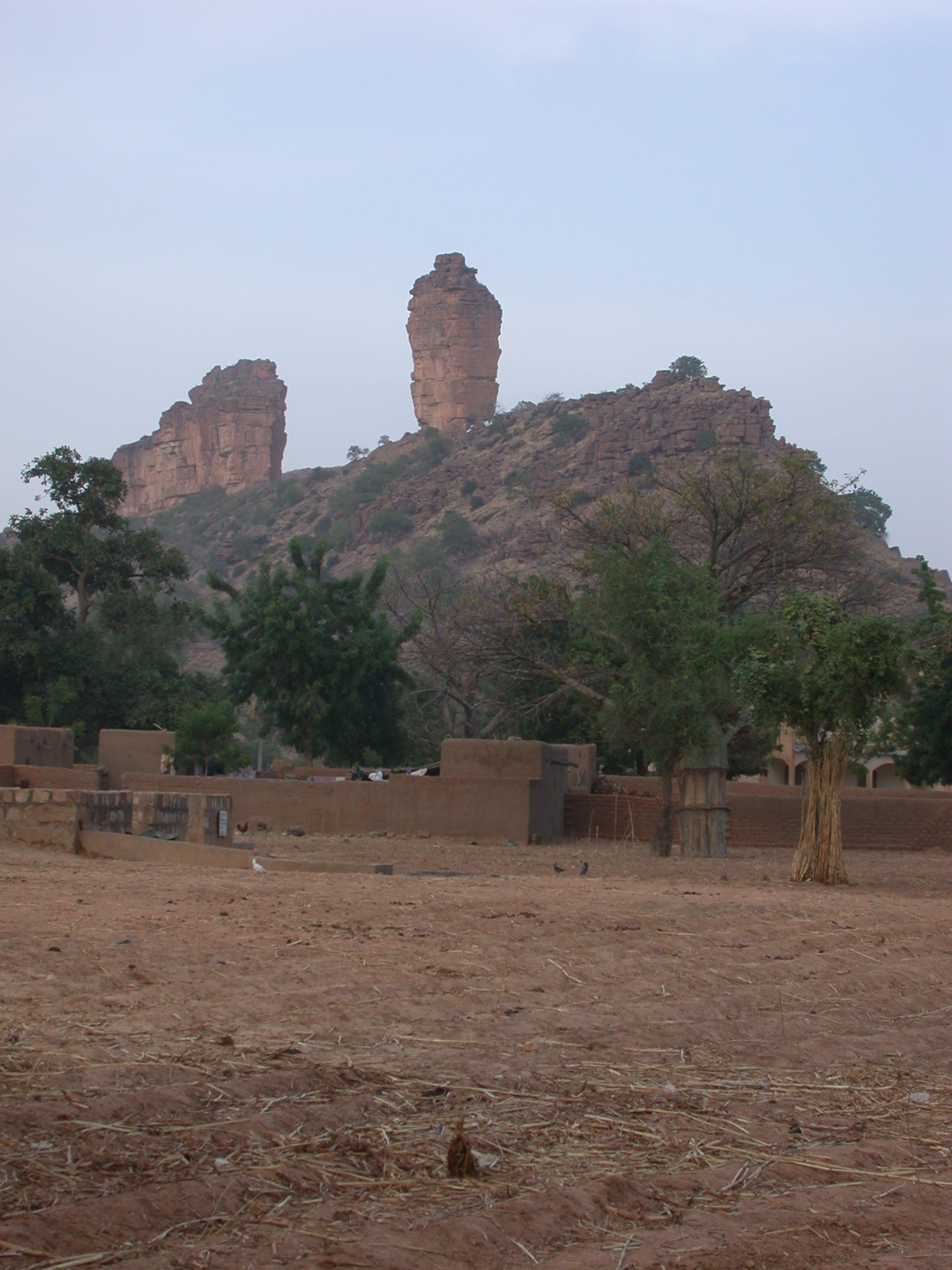 View of Thumb of Ennde From Ennde Village, Dogon Country, Mali