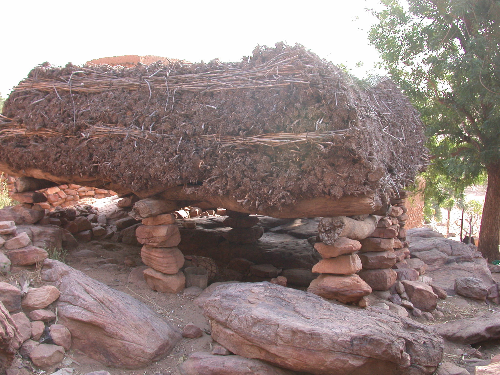Storage Platform, Ennde Village, Dogon Country, Mali
