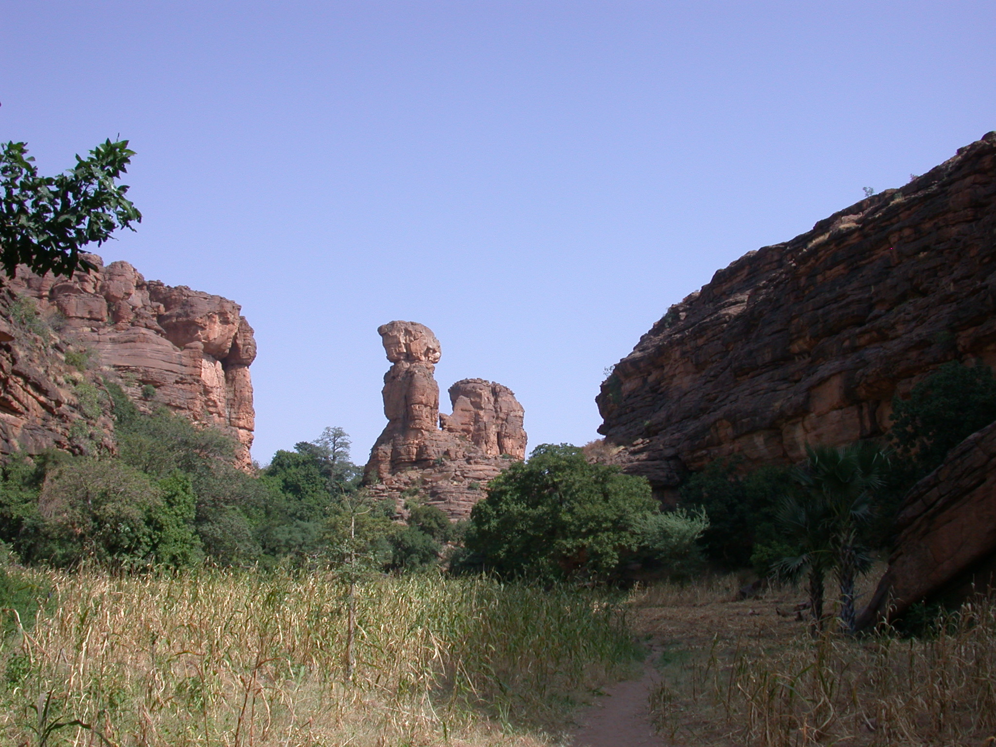 Thumb of Ennde Rock Formation, Dogon Country, Mali