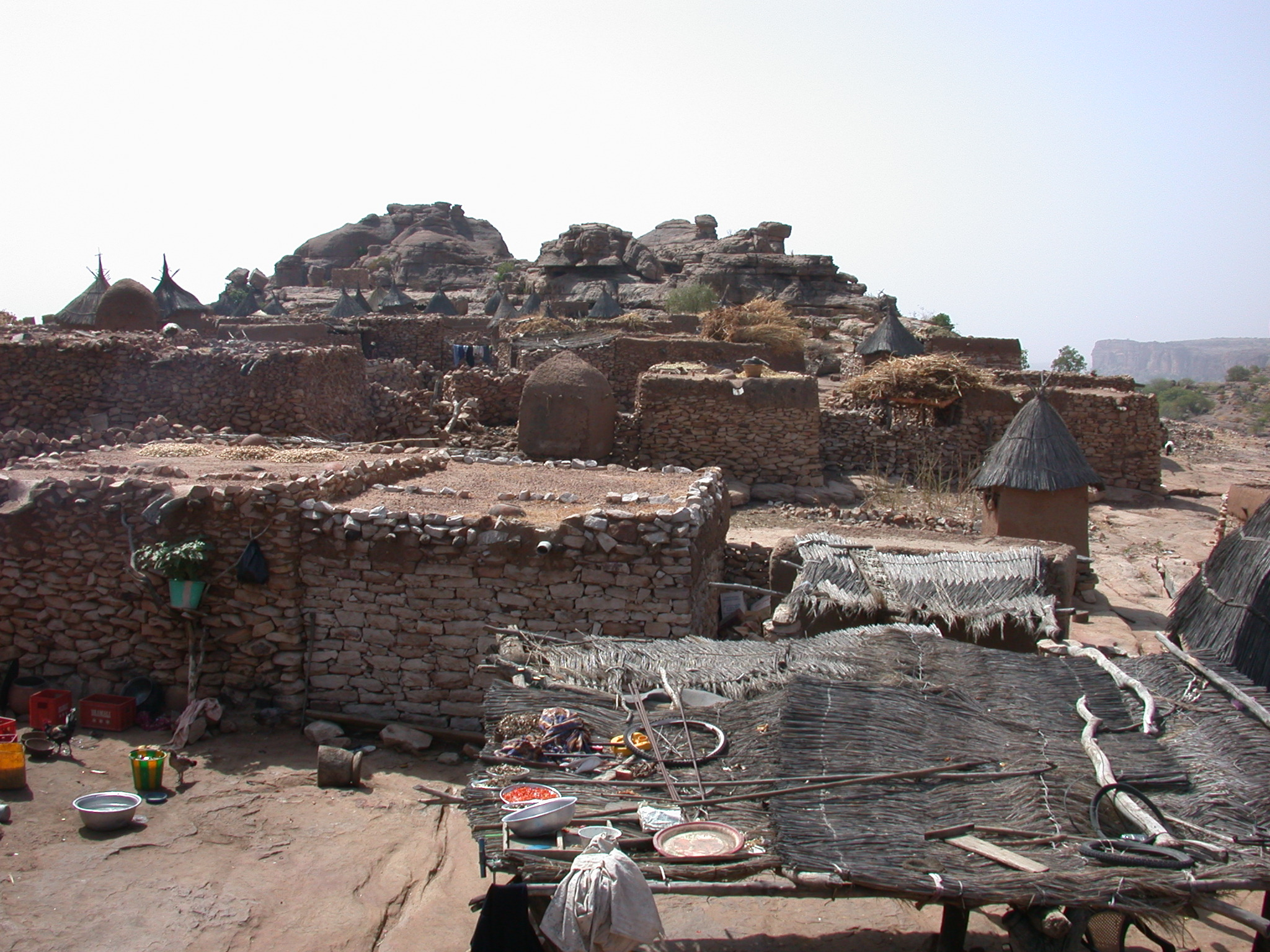 Begnetmoto Village, Dogon Country, Mali