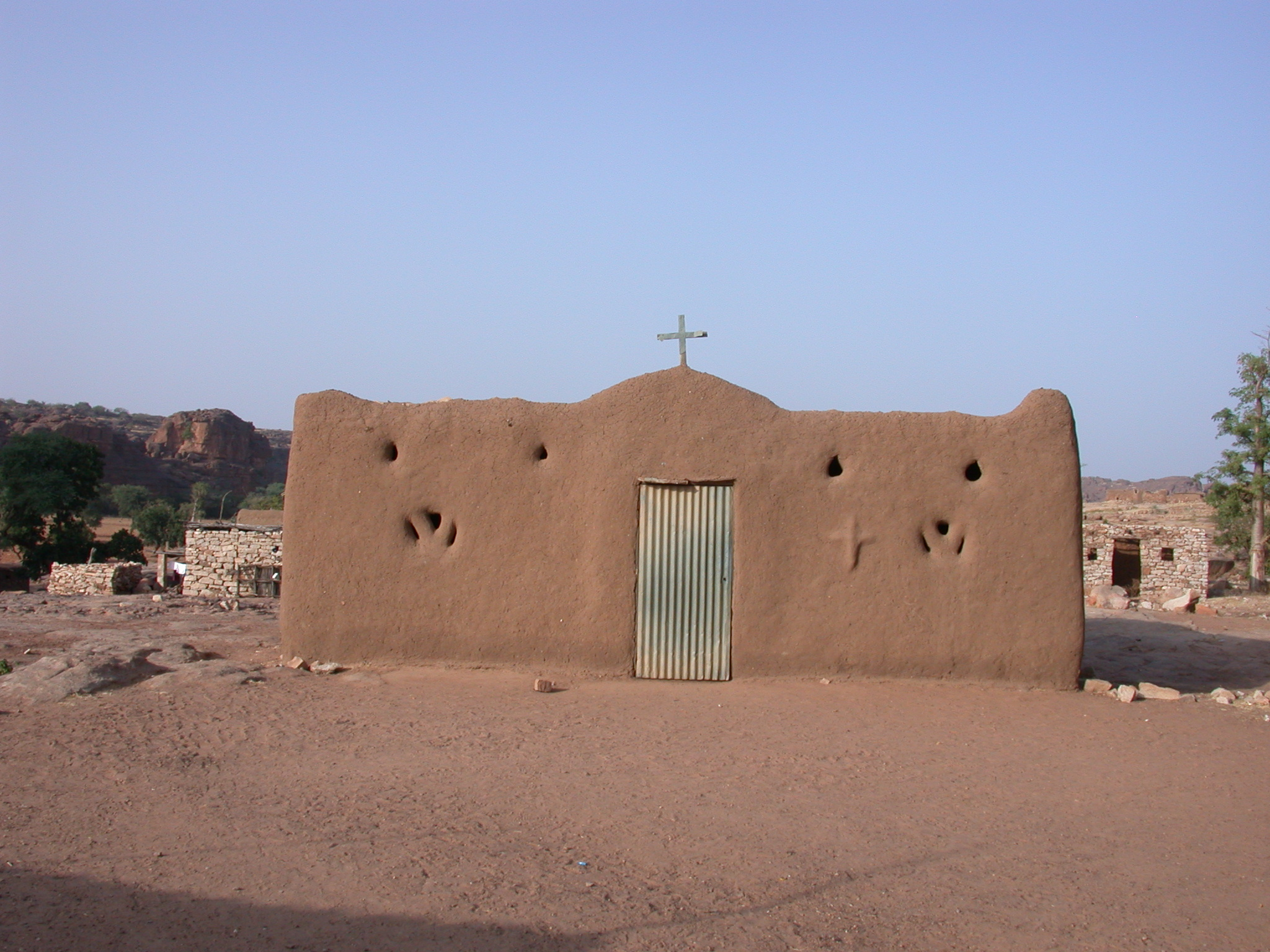 Banco Christian Church, Bengetmoto Village, Dogon Country, Mali