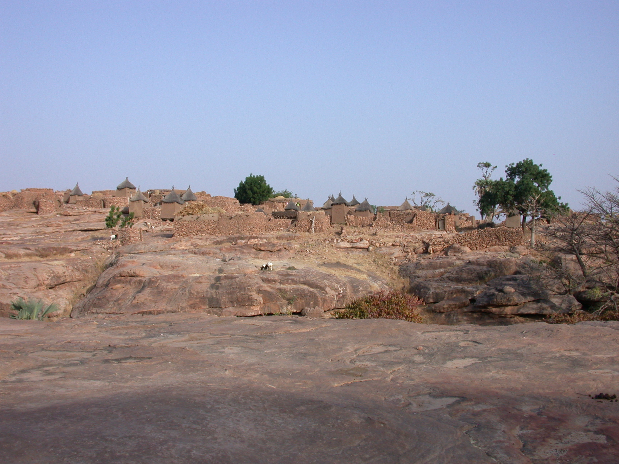 Animist Sector of Begnetmoto Village Off Limits to Visitors, Dogon Country, Mali