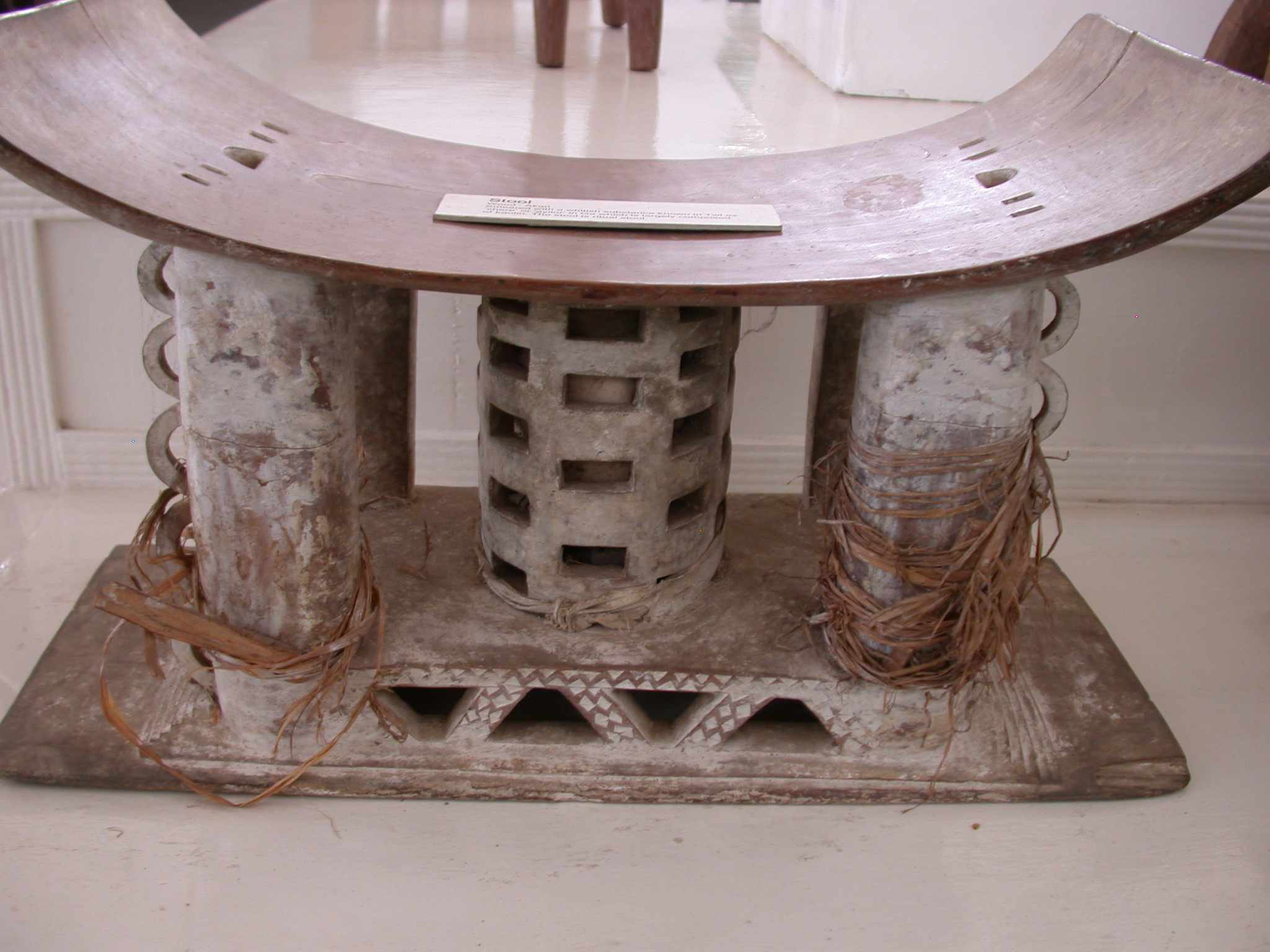 Ritual Stool, National Museum, Accra, Ghana