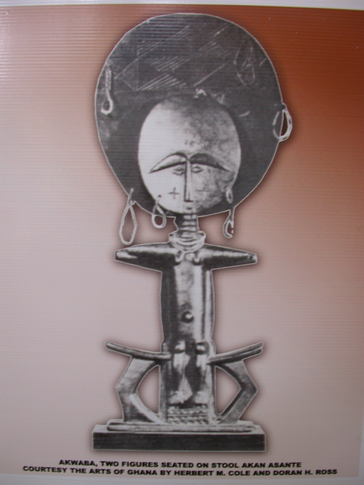 Picture of Akwaba Doll, National Museum, Accra, Ghana
