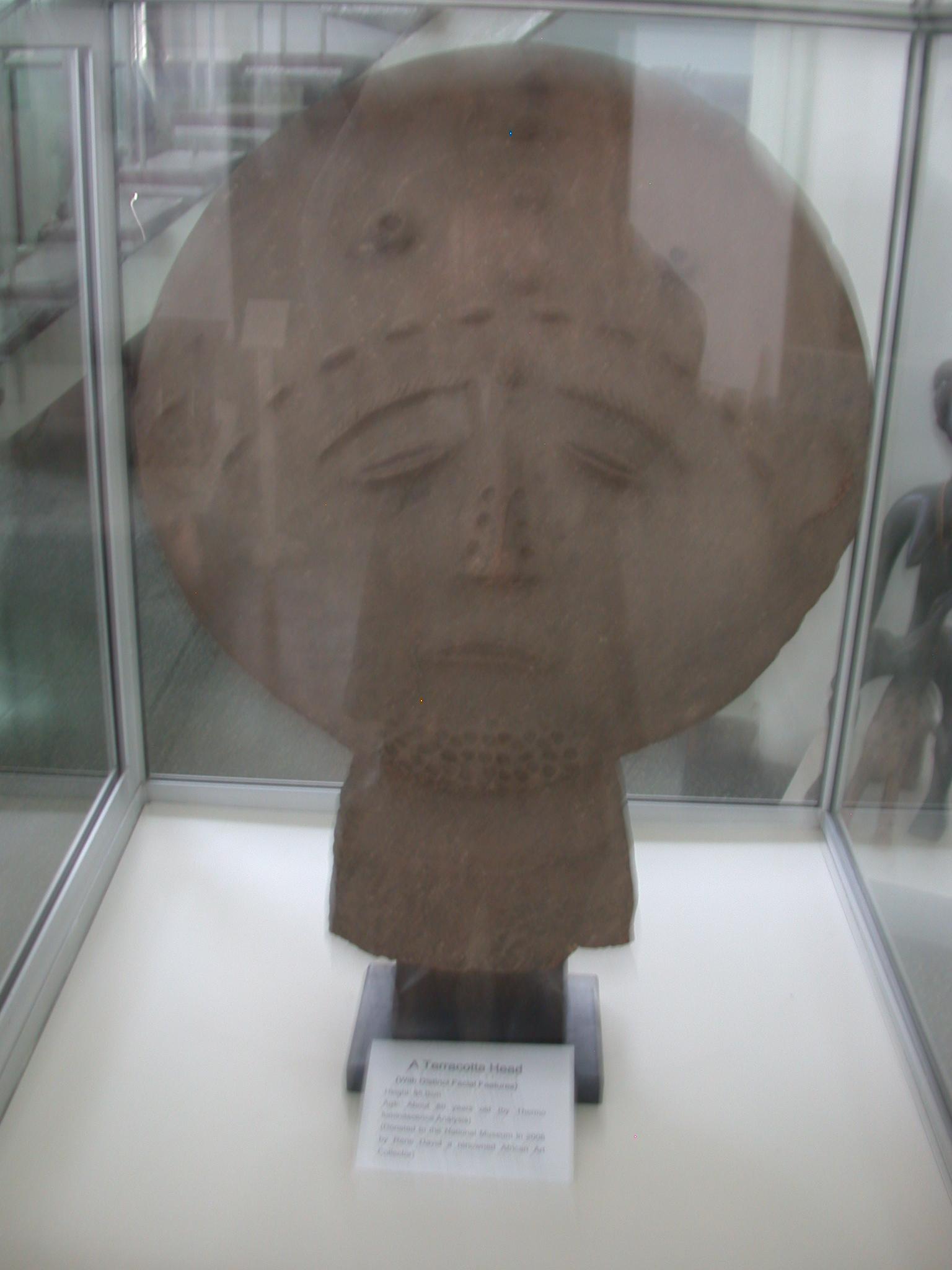 Terra Cotta Head, National Museum, Accra, Ghana