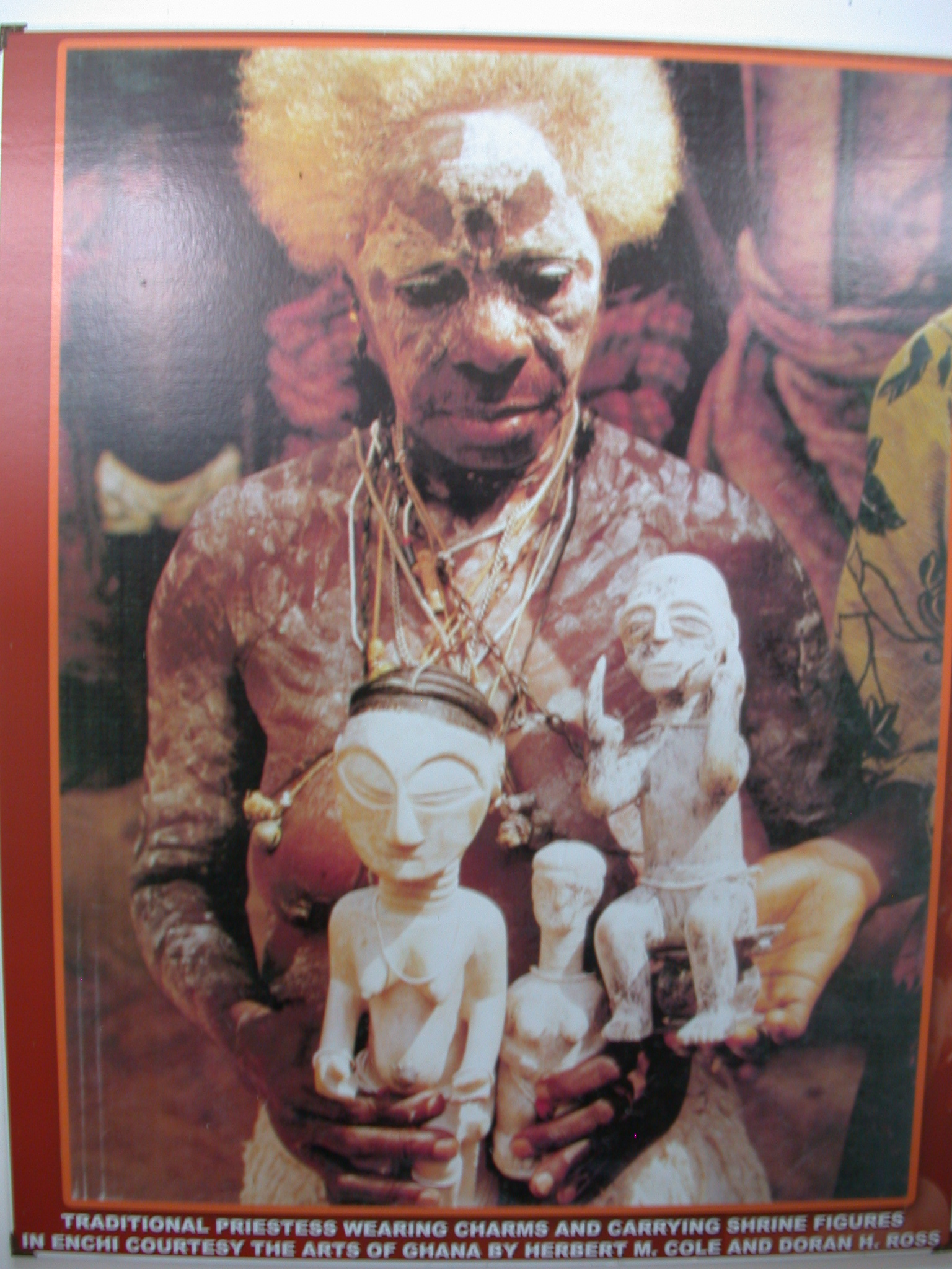 Picture of Traditional Priestess, National Museum, Accra, Ghana