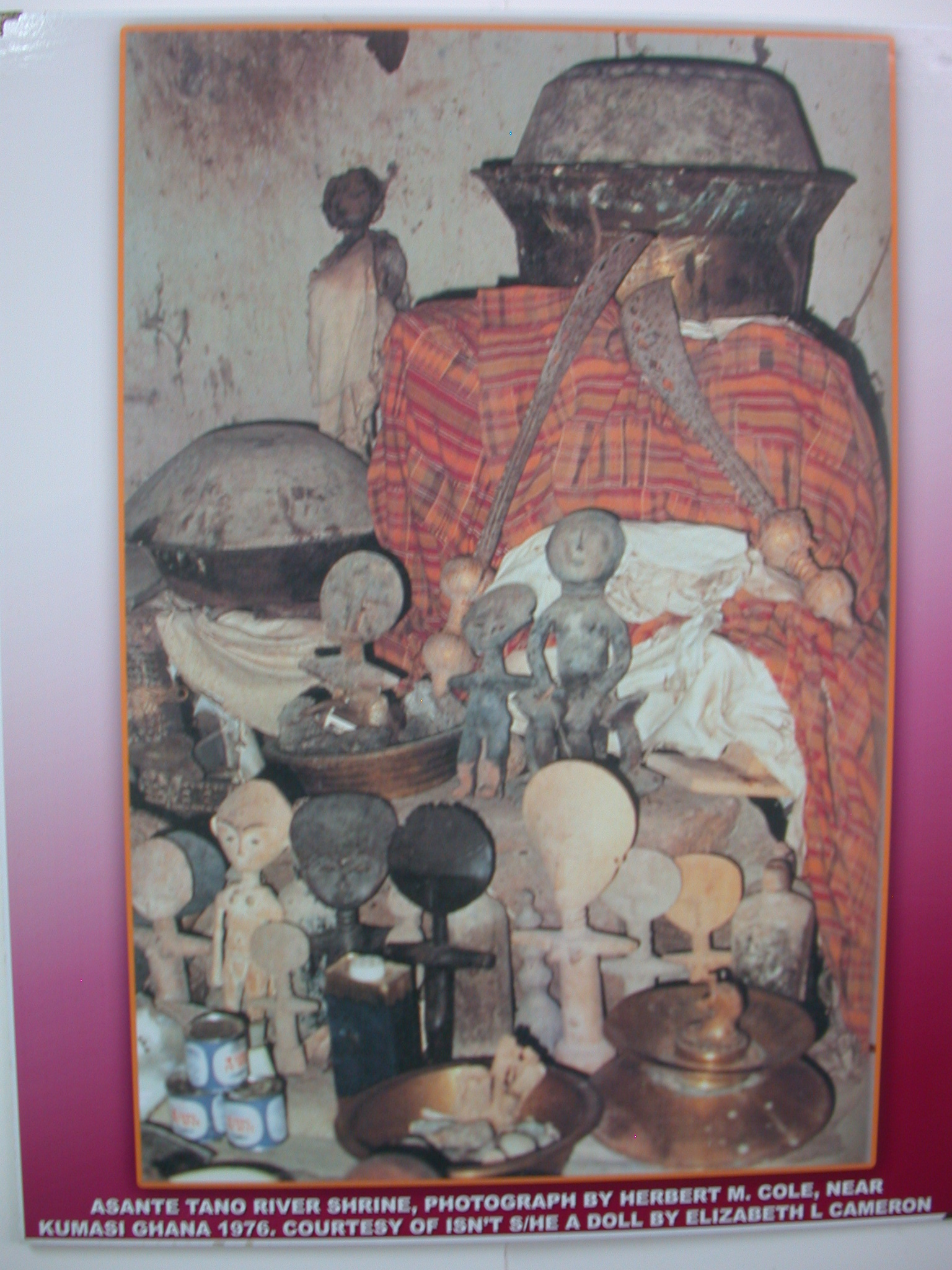 Picture of Asante Tano River Shrine, National Museum, Accra, Ghana