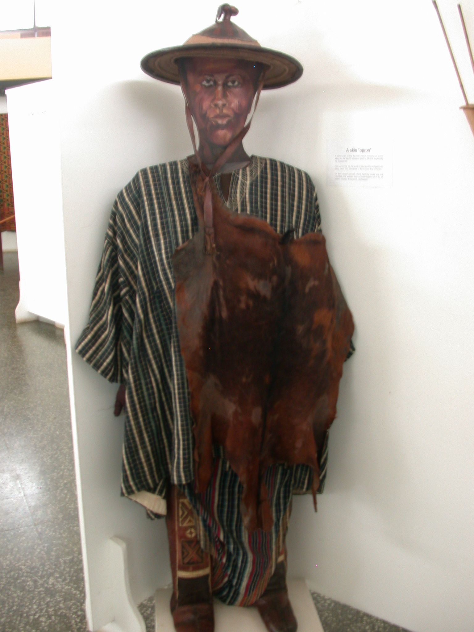 A Skin Apron, National Museum, Accra, Ghana