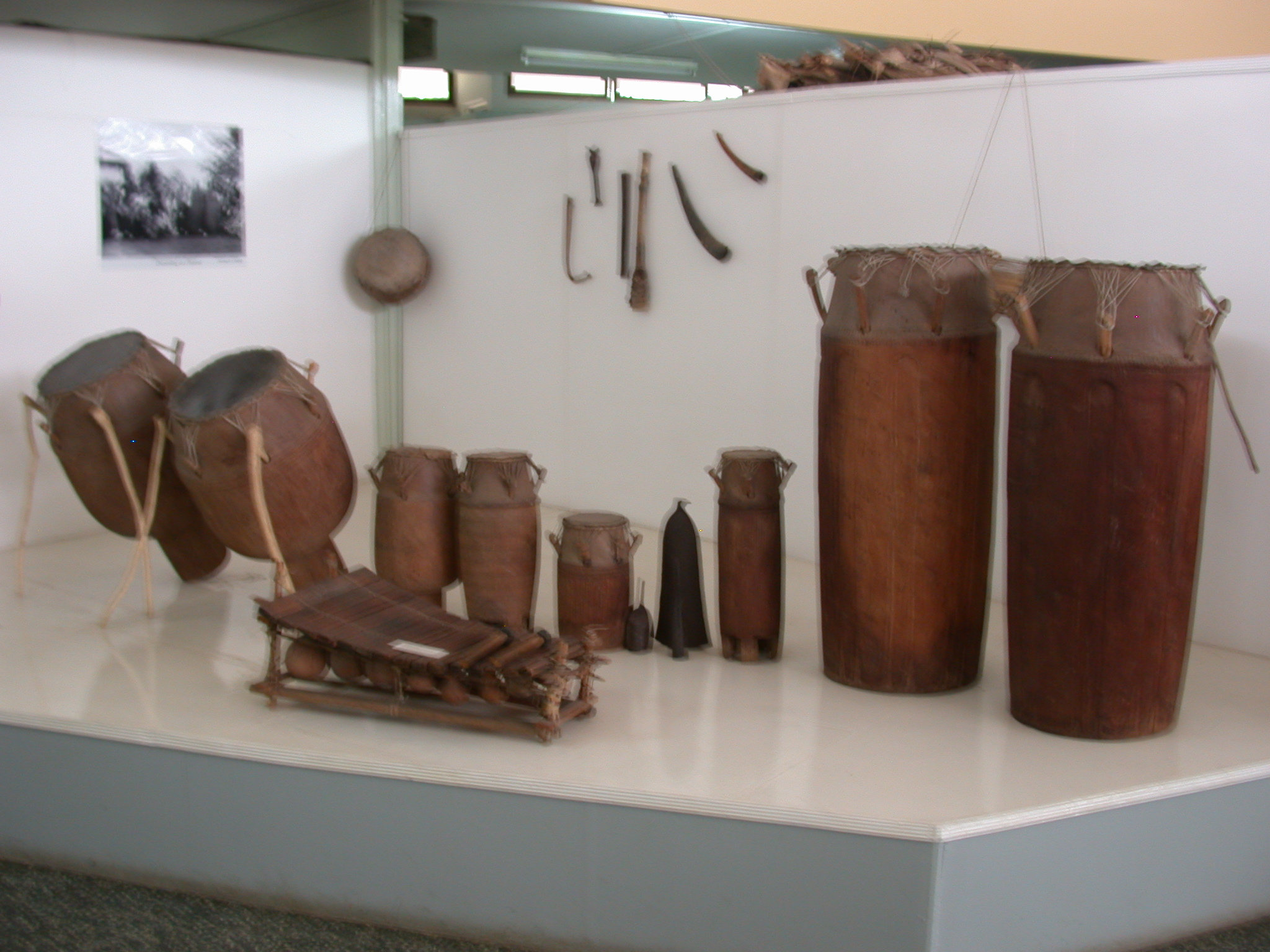 Musical Instruments, National Museum, Accra, Ghana