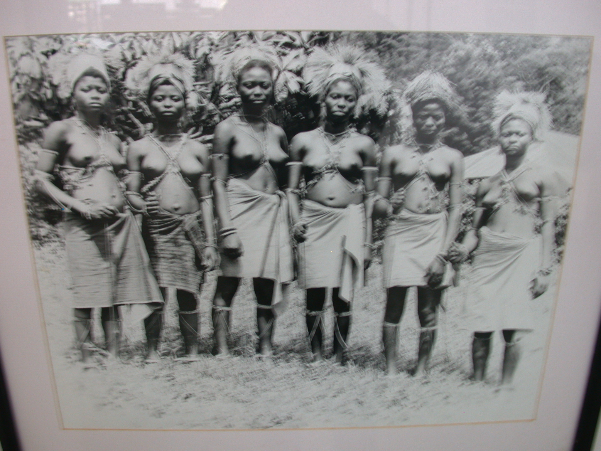 Picture of Girls Initiated Into Bakafor Rite, National Museum, Accra, Ghana