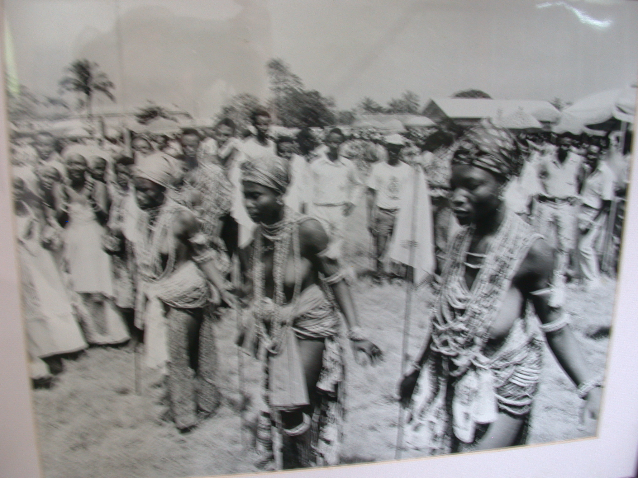 Picture of Puberty Dance by Shai Girls, National Musem, Accra, Ghana