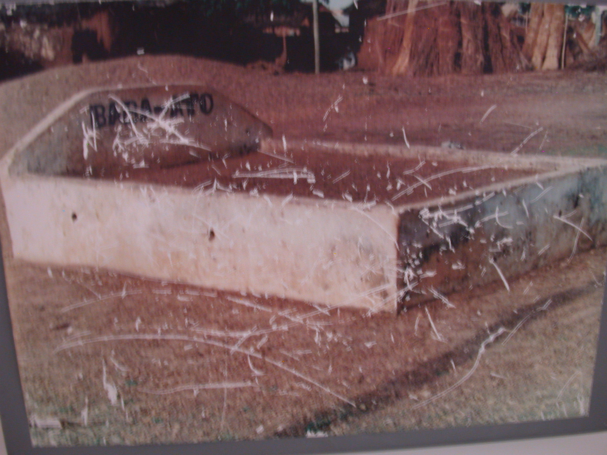 Picture of Grave of Notorious Slave Raider Babo Ato, National Museum, Accra, Ghana