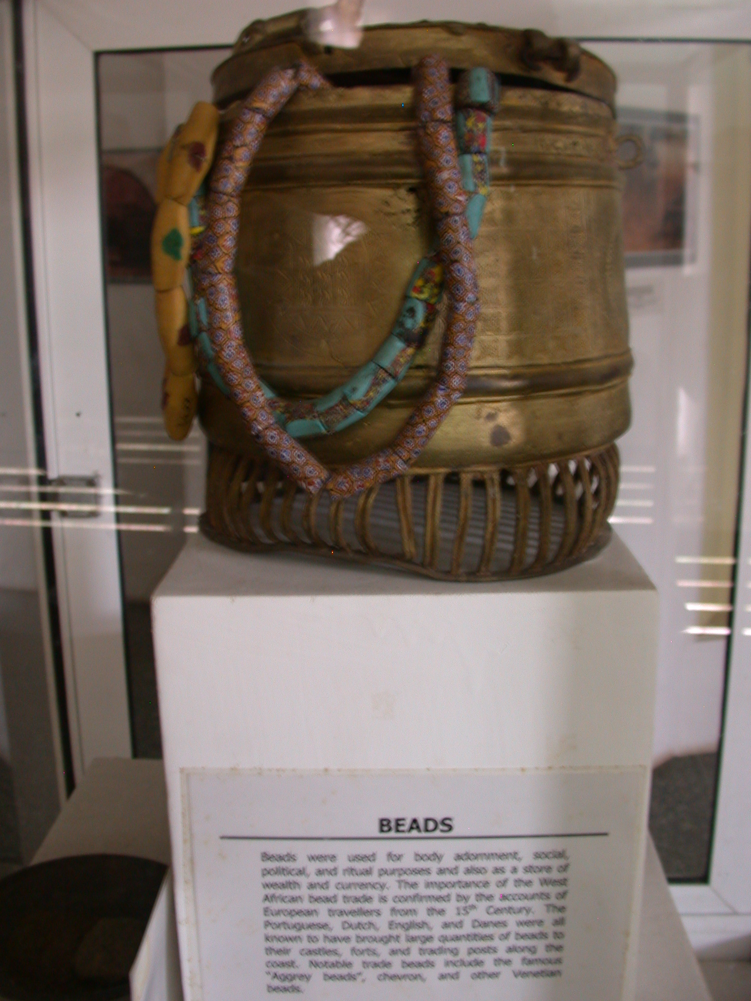 Beads and Description, National Museum, Accra, Ghana
