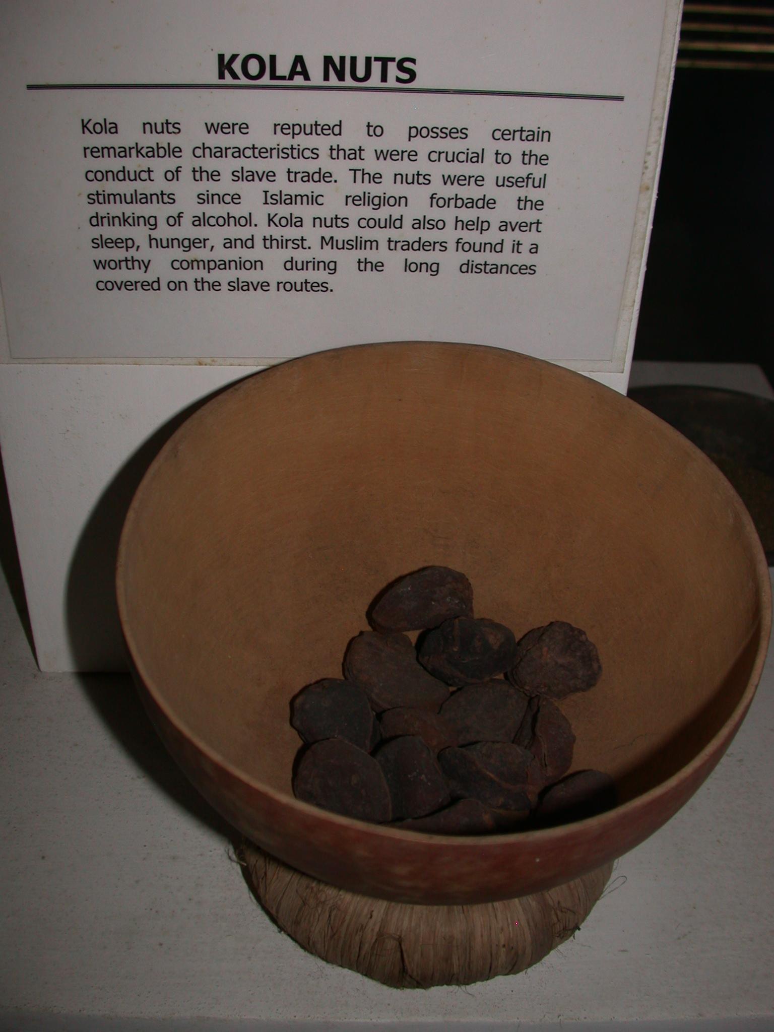 Kola Nuts and Description, National Museum, Accra, Ghana