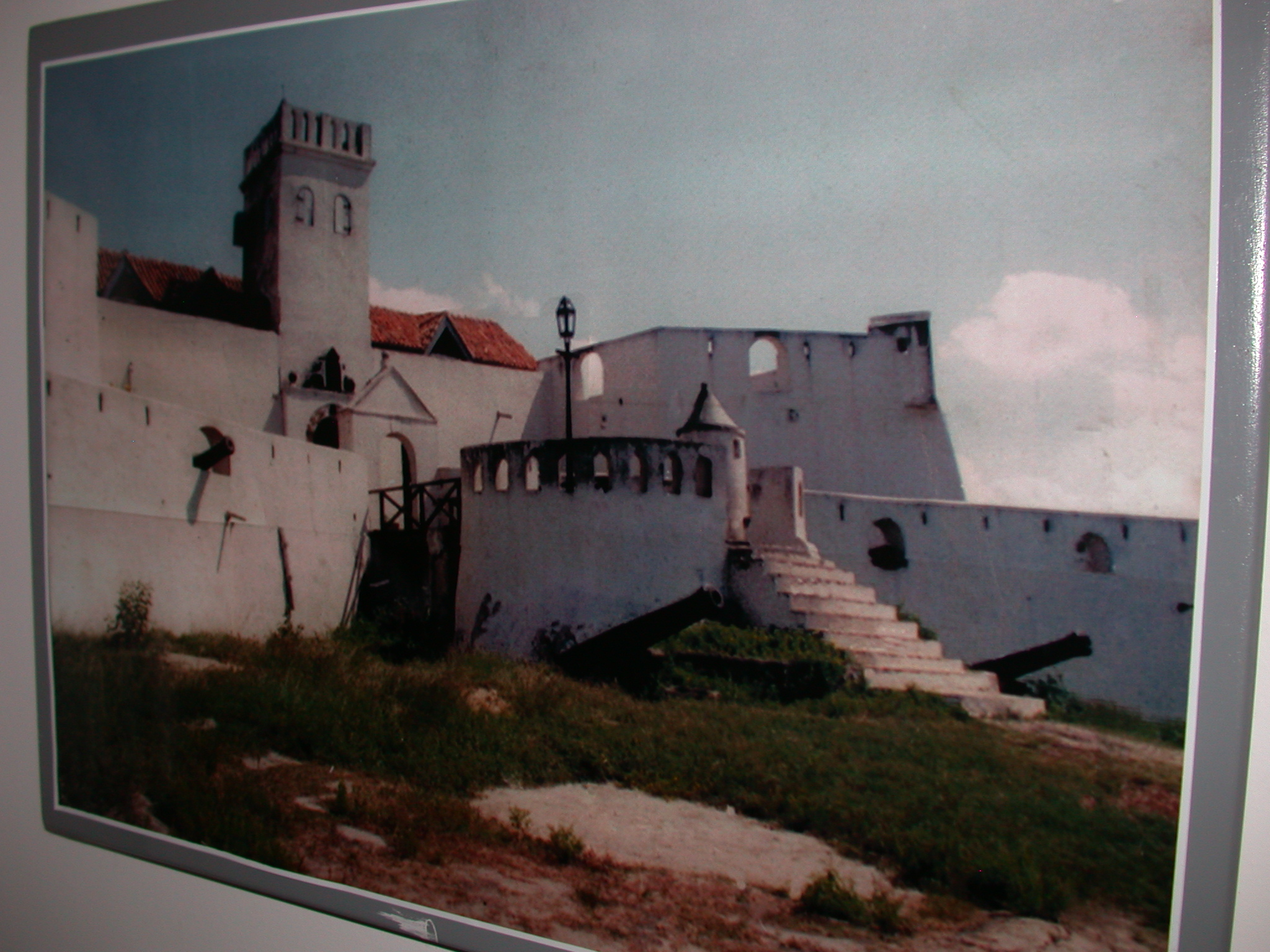 Picture of Fort St. Jago in Elmina, National Museum, Accra, Ghana