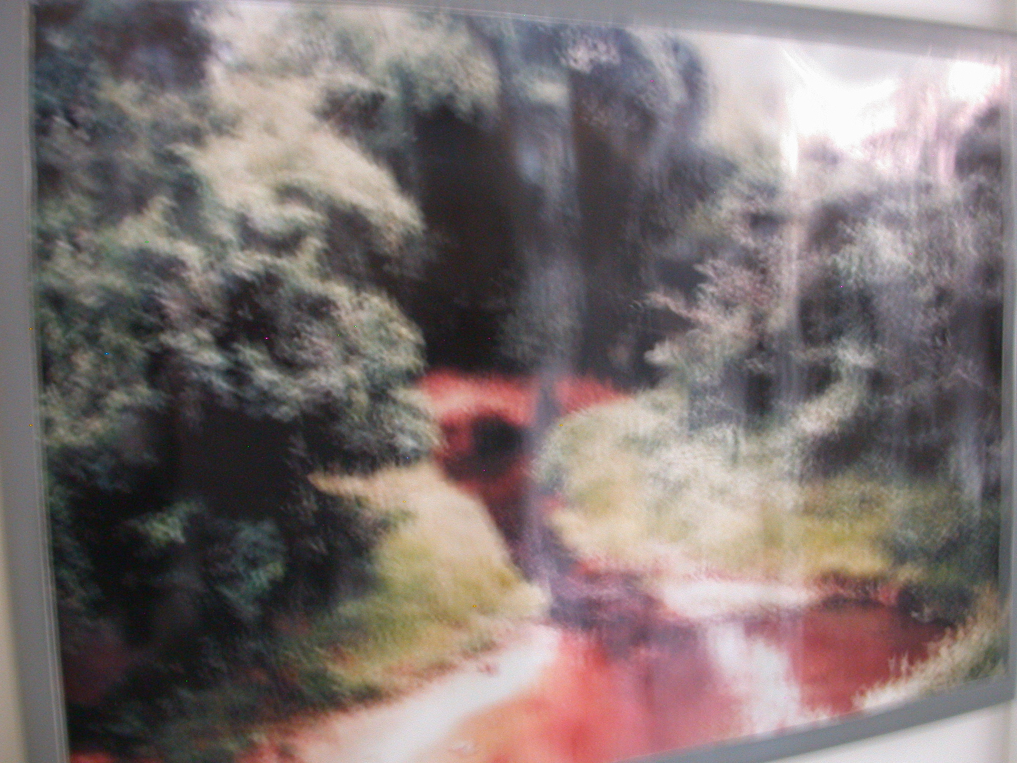 Blurry Picture of Slave River, National Museum, Accra, Ghana
