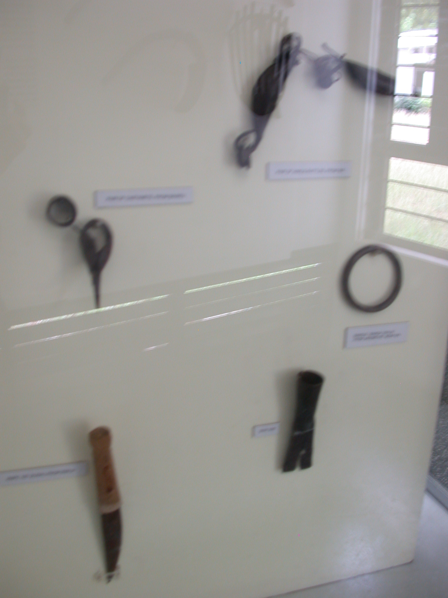 Traditional Iron Making, Various Implements, National Museum, Accra, Ghana