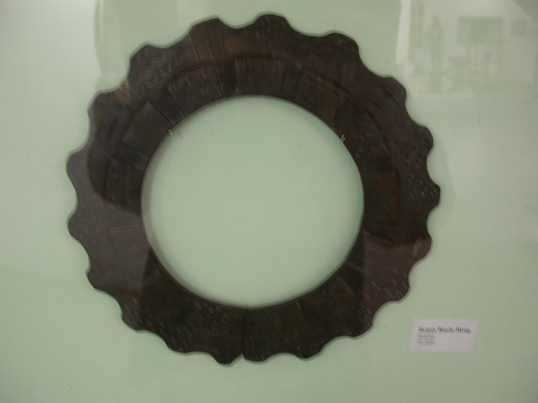 Brass Neck Ring, National Museum, Accra, Ghana