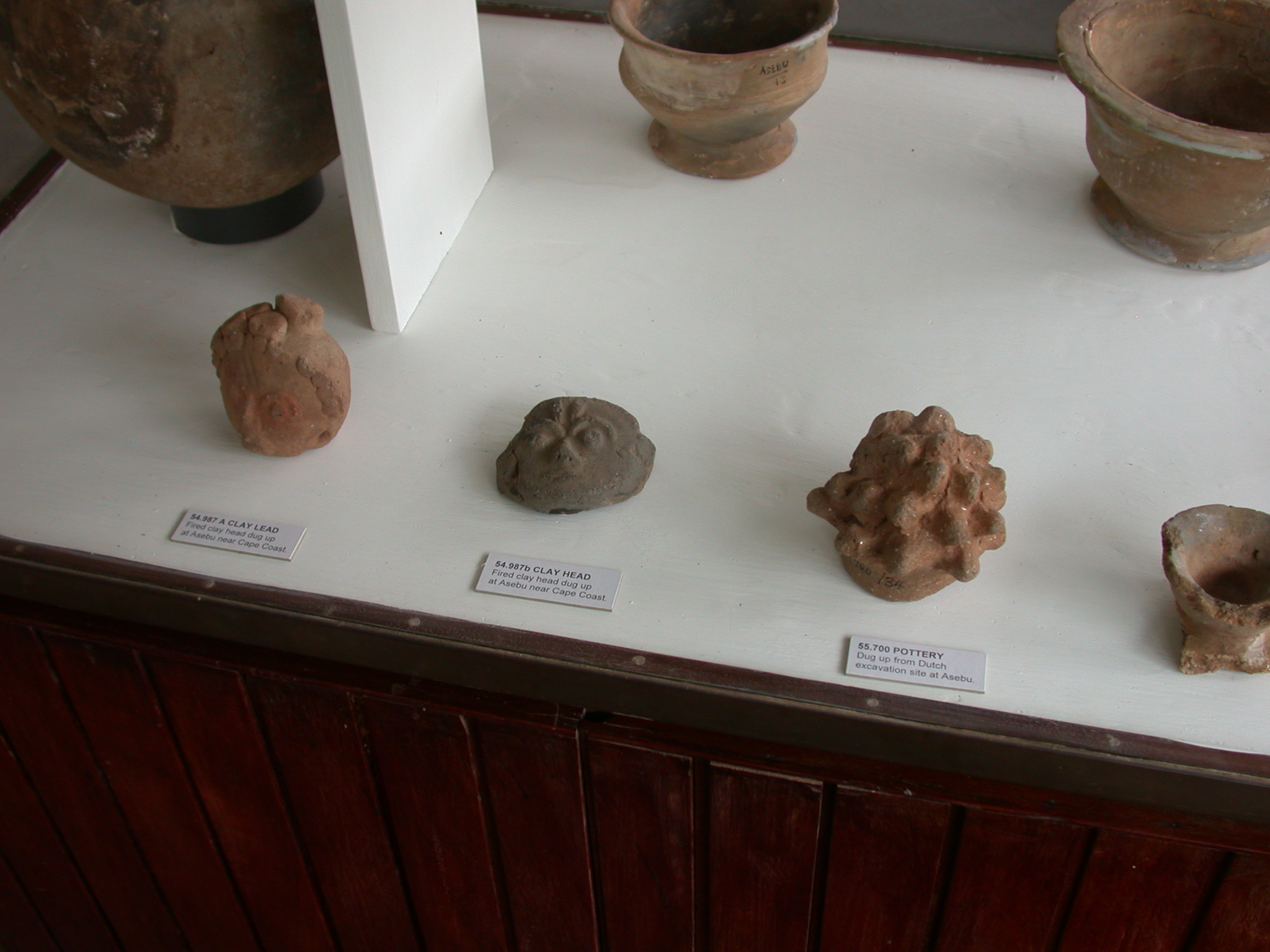 Clay Heads and Figures From Cape Coast and Elsewhere, National Museum, Accra, Ghana