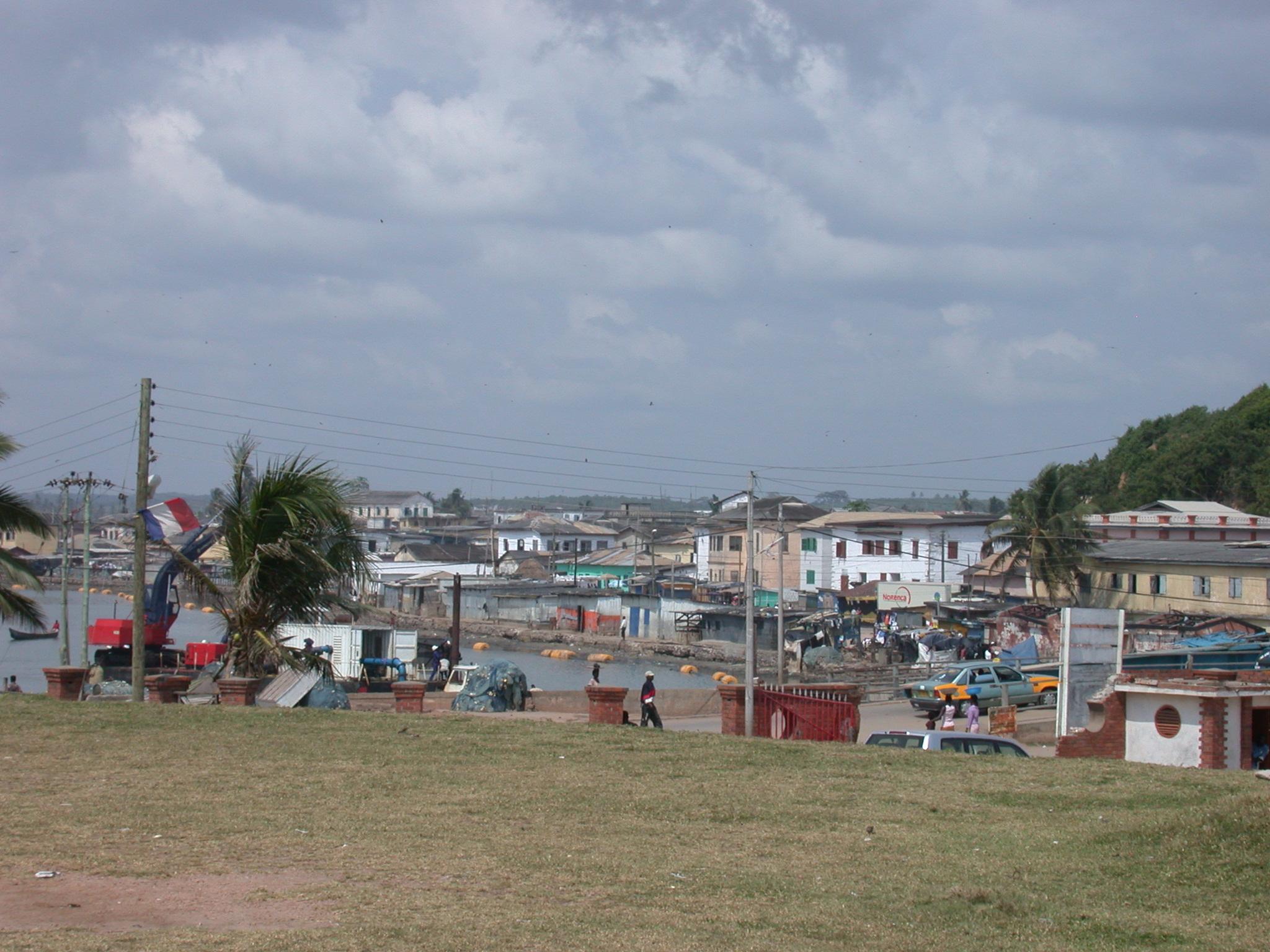 Neighborhood of Elmina Slave Fort, Elmina, Ghana