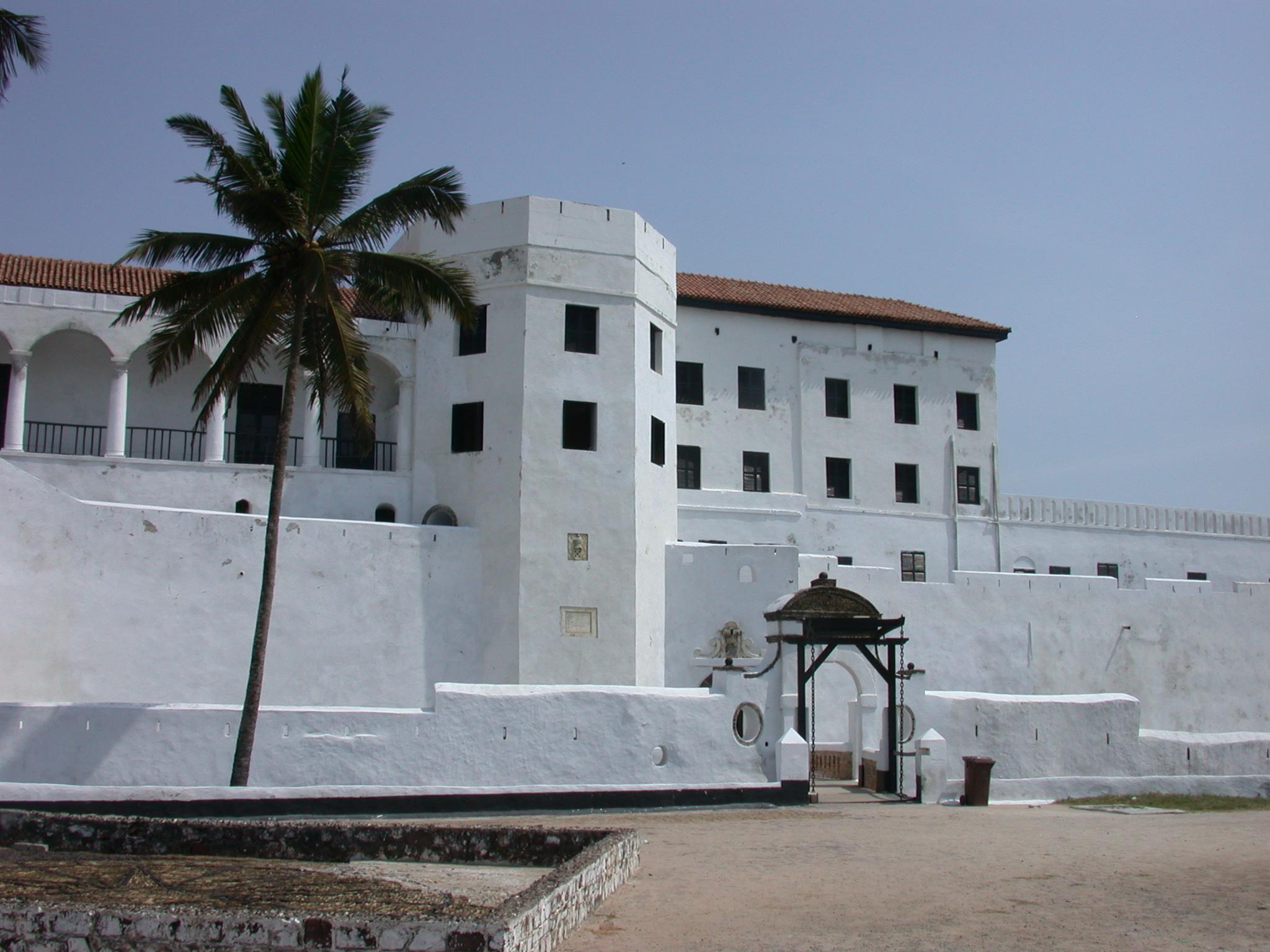 Entrance of Elmina Slave Fort, Elmina, Ghana