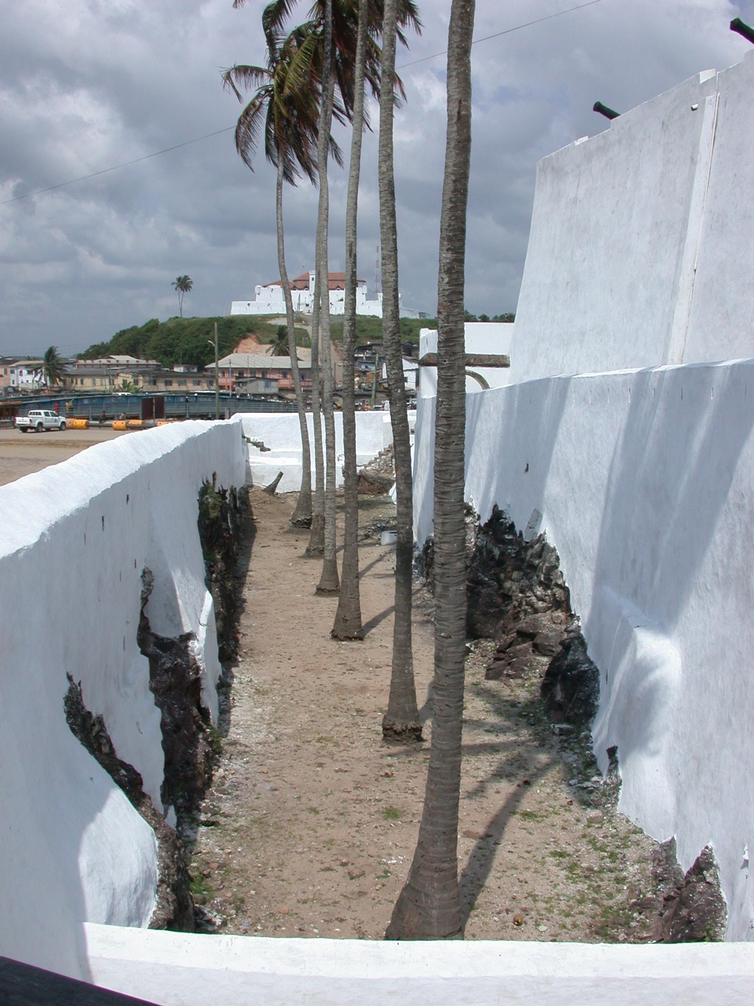 Moat of Elmina Slave Fort, Elmina, Ghana