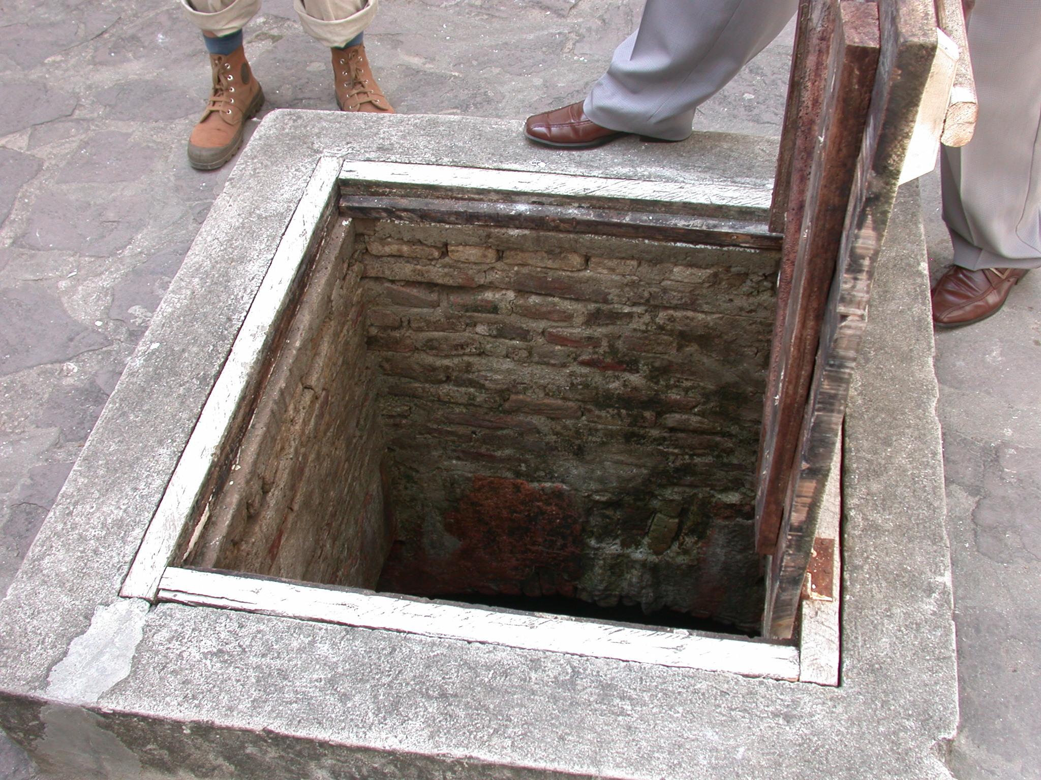 Cistern in Courtyard, Elmina Slave Fort, Elmina, Ghana